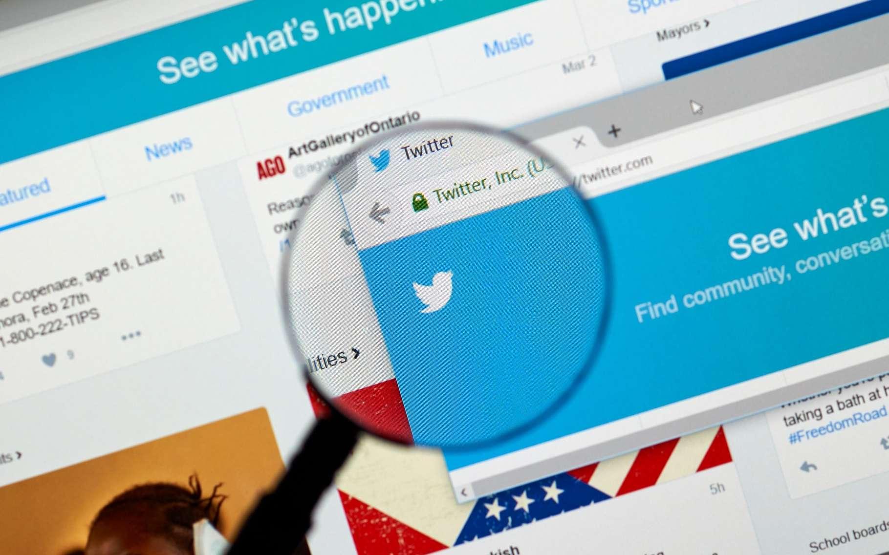 La recherche sur Twitter n'est pas différente de ce que les moteurs de recherche proposent sur Internet. Cependant, des options spécifiques permettent notamment de trouver des contenus en fonction de leur popularité. © Dennizn, Shutterstock