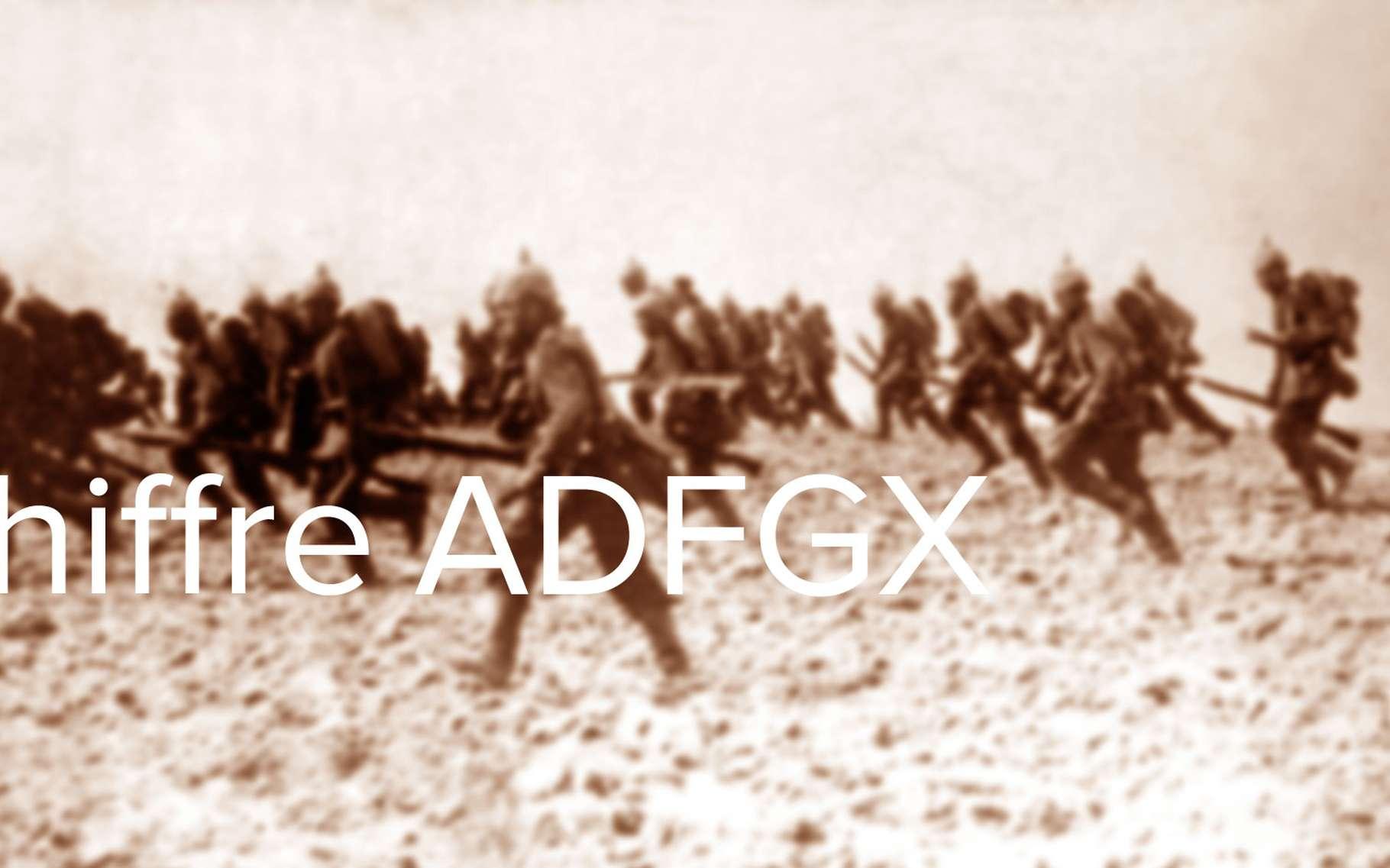 Comment décrypter le chiffre ADFGX ? © DP