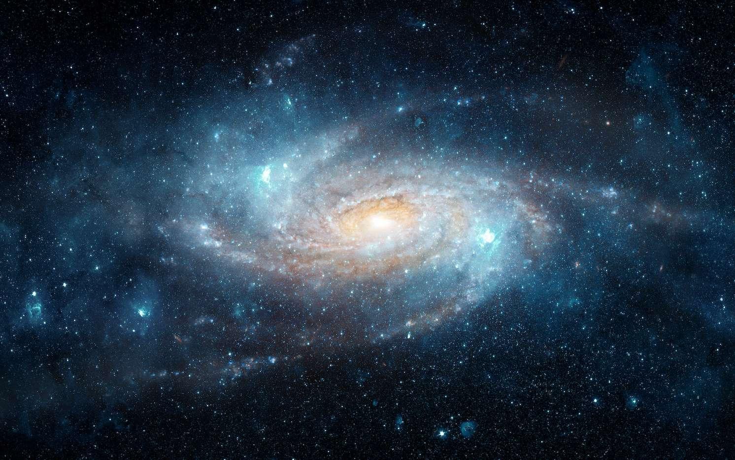 Une intrigante structure filamenteuse découverte aux confins de la Voie lactée