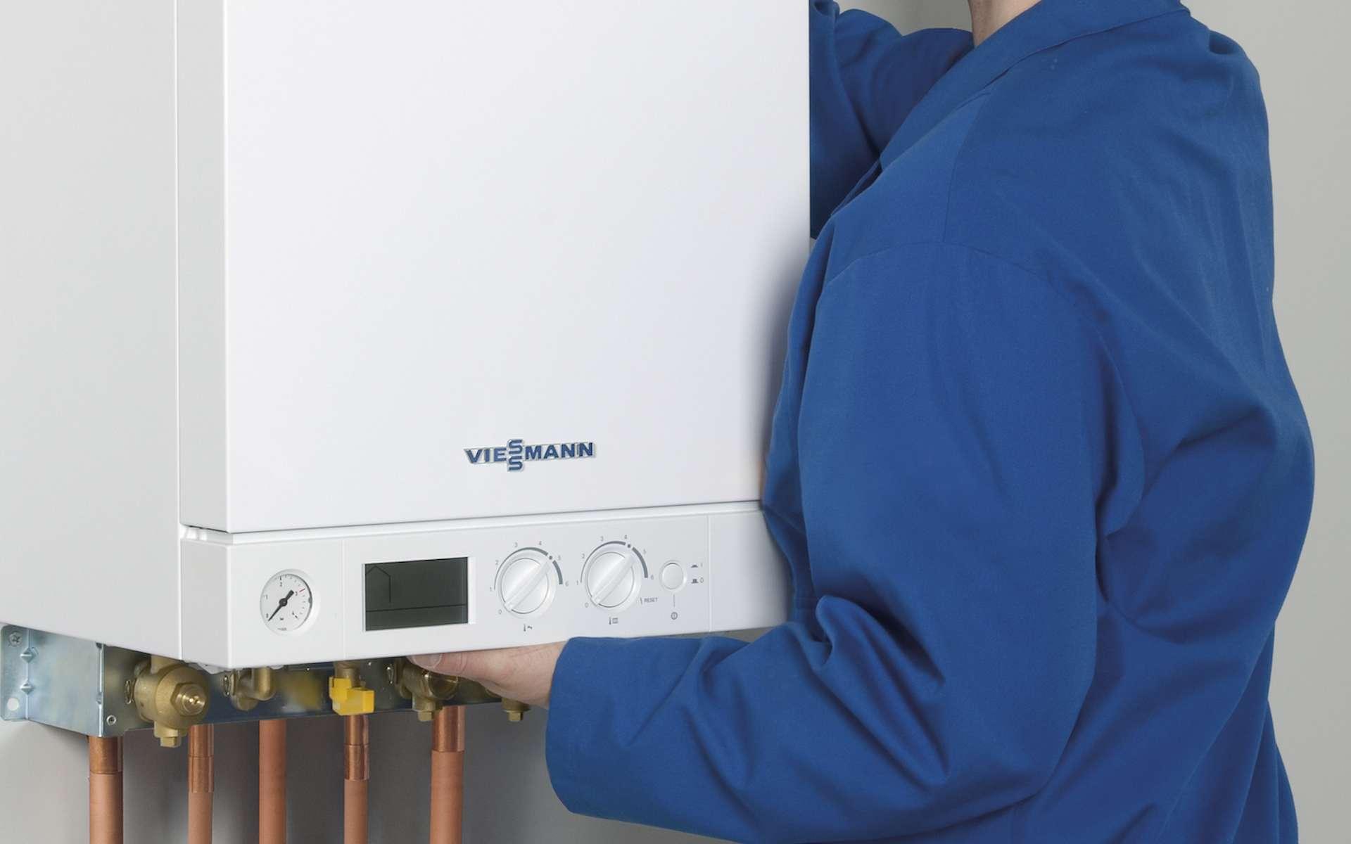 Faire contrôler sa chaudière à gaz une fois par an est une obligation légale. © Viessmann