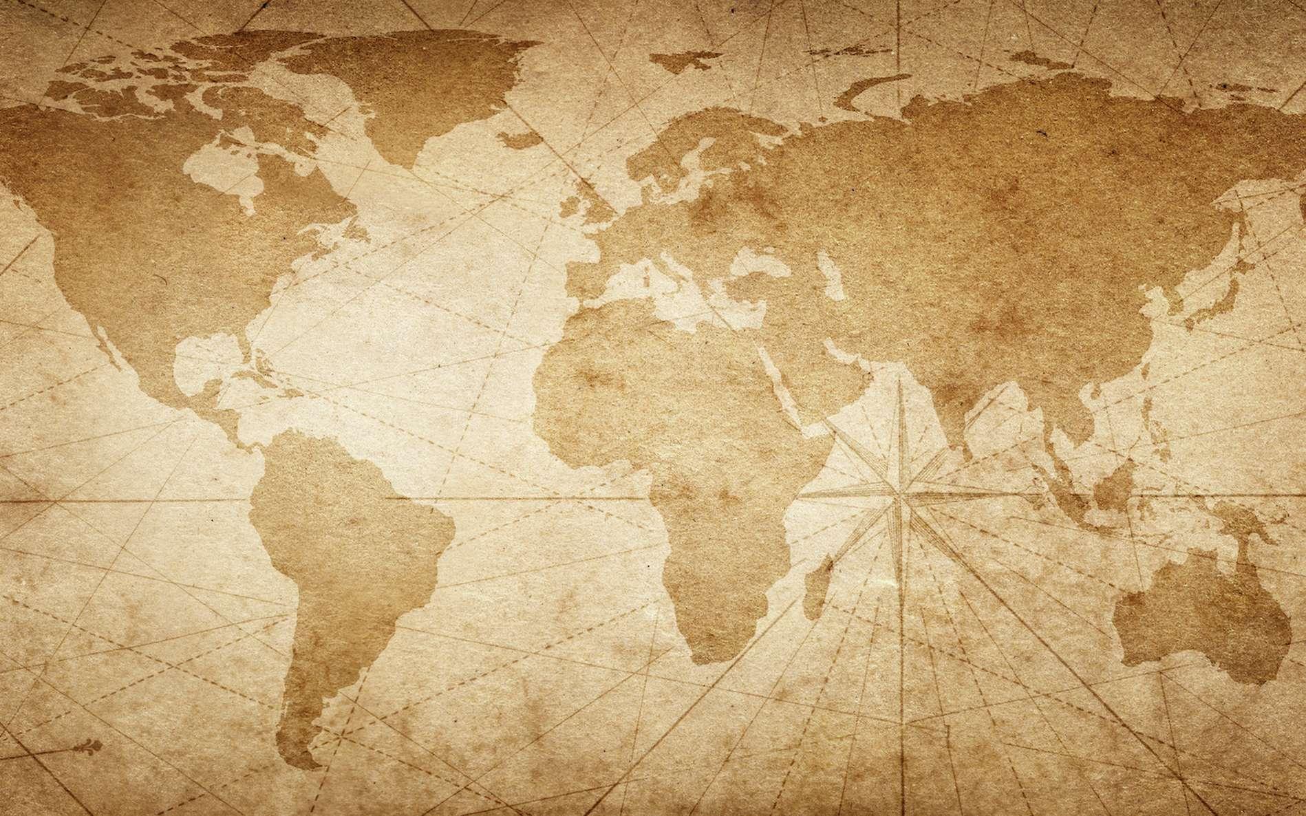 Ceci est la carte du monde la plus réaliste jamais établie - Futura