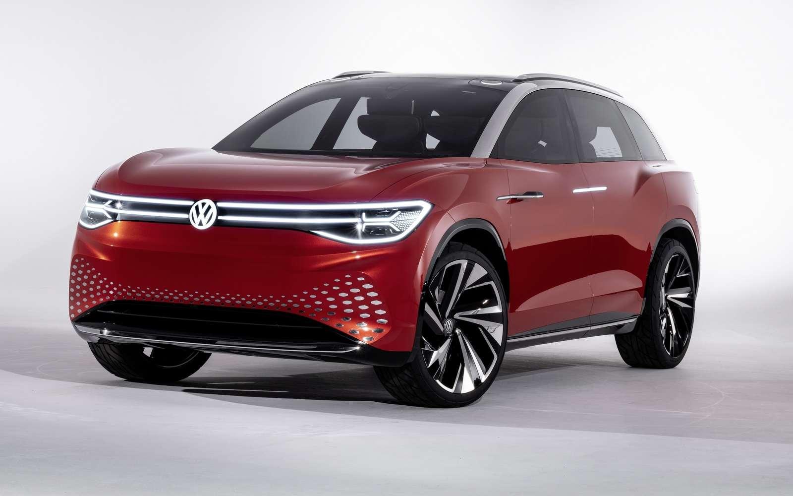Le concept-car Volkswagen ID. RoomZZ. © Volkswagen