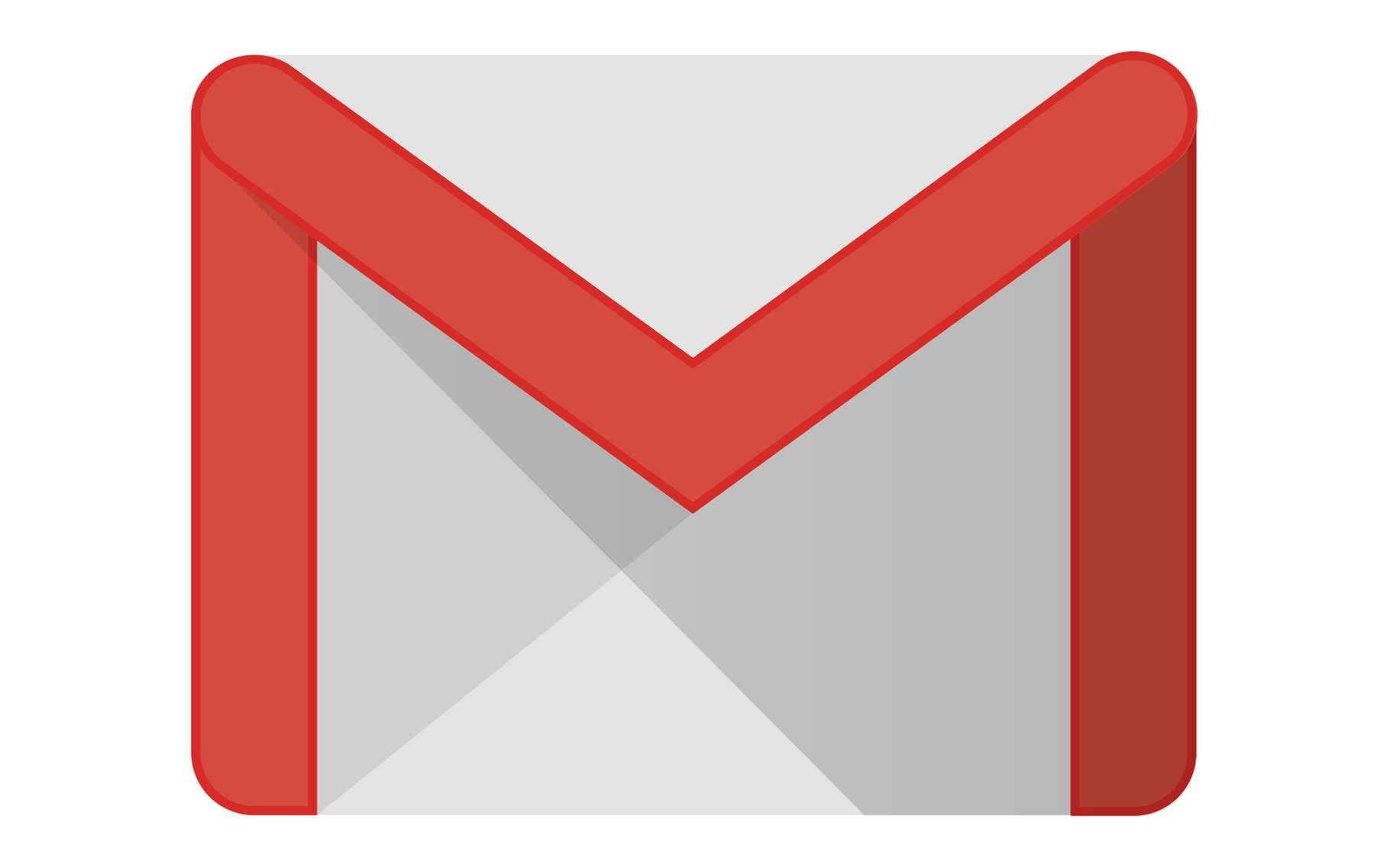Le mot de passe GMail est utilisé par tous les autres services Google. Ici, le logo de GMail. © Juancameneses11, Google, INC, Wikimedia Commons, DP