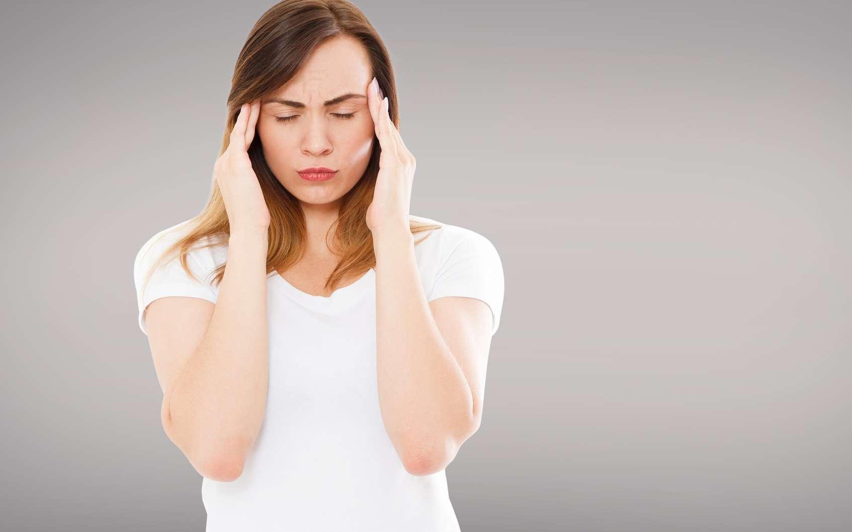 La migraine toucherait environ 15 % des adultes dans le monde. © paulcannoby, Fotolia
