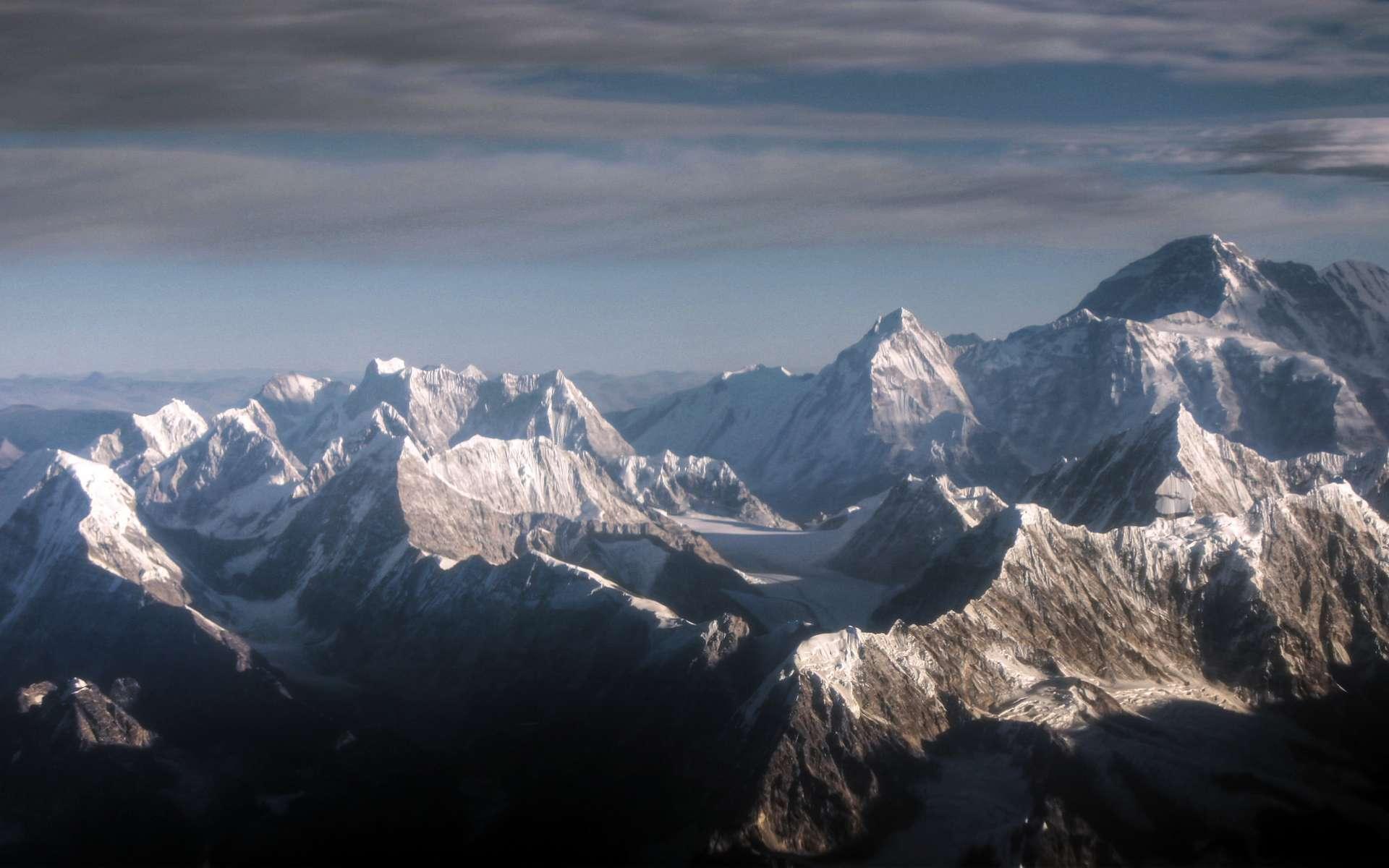 Les glaciers de l'Himalaya sont menacés par le réchauffement climatique. © Mariusz Kluzniak, Flickr