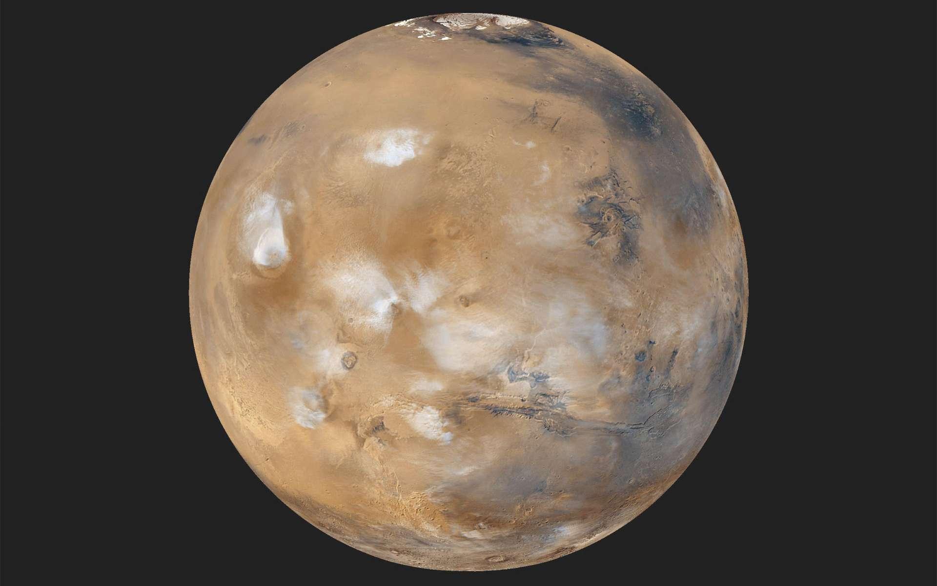 L'exploration robotique de Mars va de pair avec un système de communication suffisamment dimensionné. Dans le contexte actuel, il montre des signes d'essoufflement. © Nasa, JPL-Caltech, MSSS