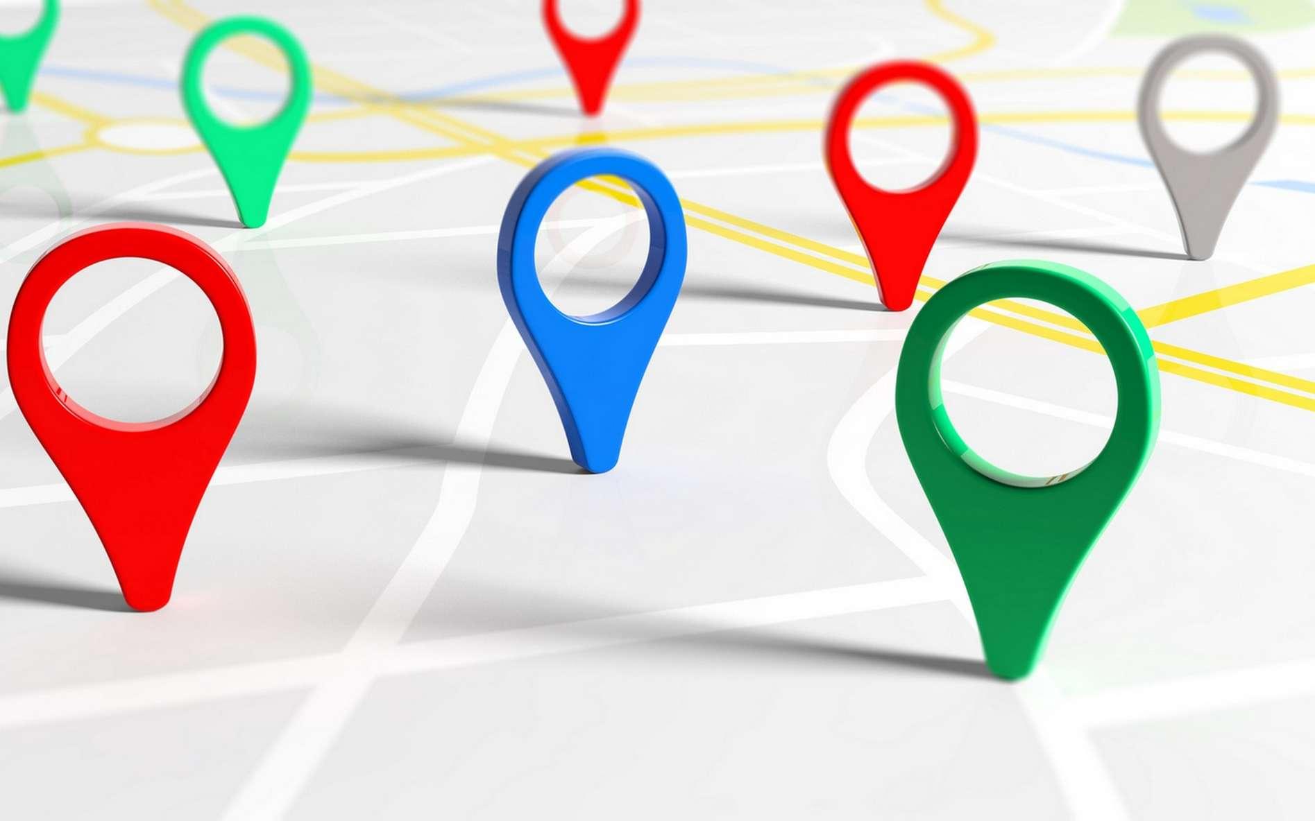 Le geofencing ou géorepérage s'appuie sur la géolocalisation par GPS pour définir des zones d'utilisation d'un appareil ou d'un véhicule. © Rawf8, Fotolia