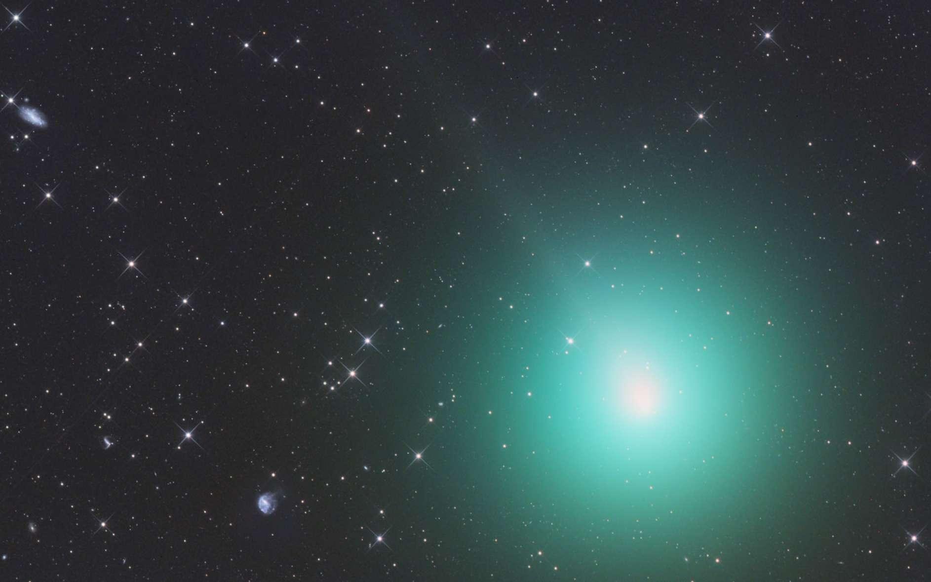La comète 46P/Wirtanen photographiée le 26 novembre 2018. © avec la permission de Gerald Rhemann