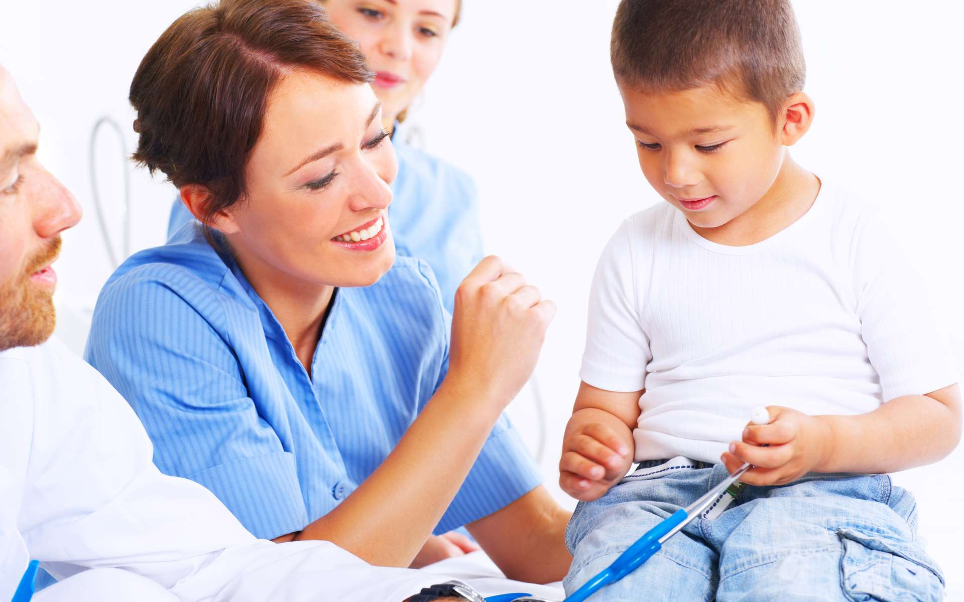 Chaque année, 500 nouveaux cas de leucémies infantiles sont diagnostiqués en France. © Yuri Arcurs - Fotolia