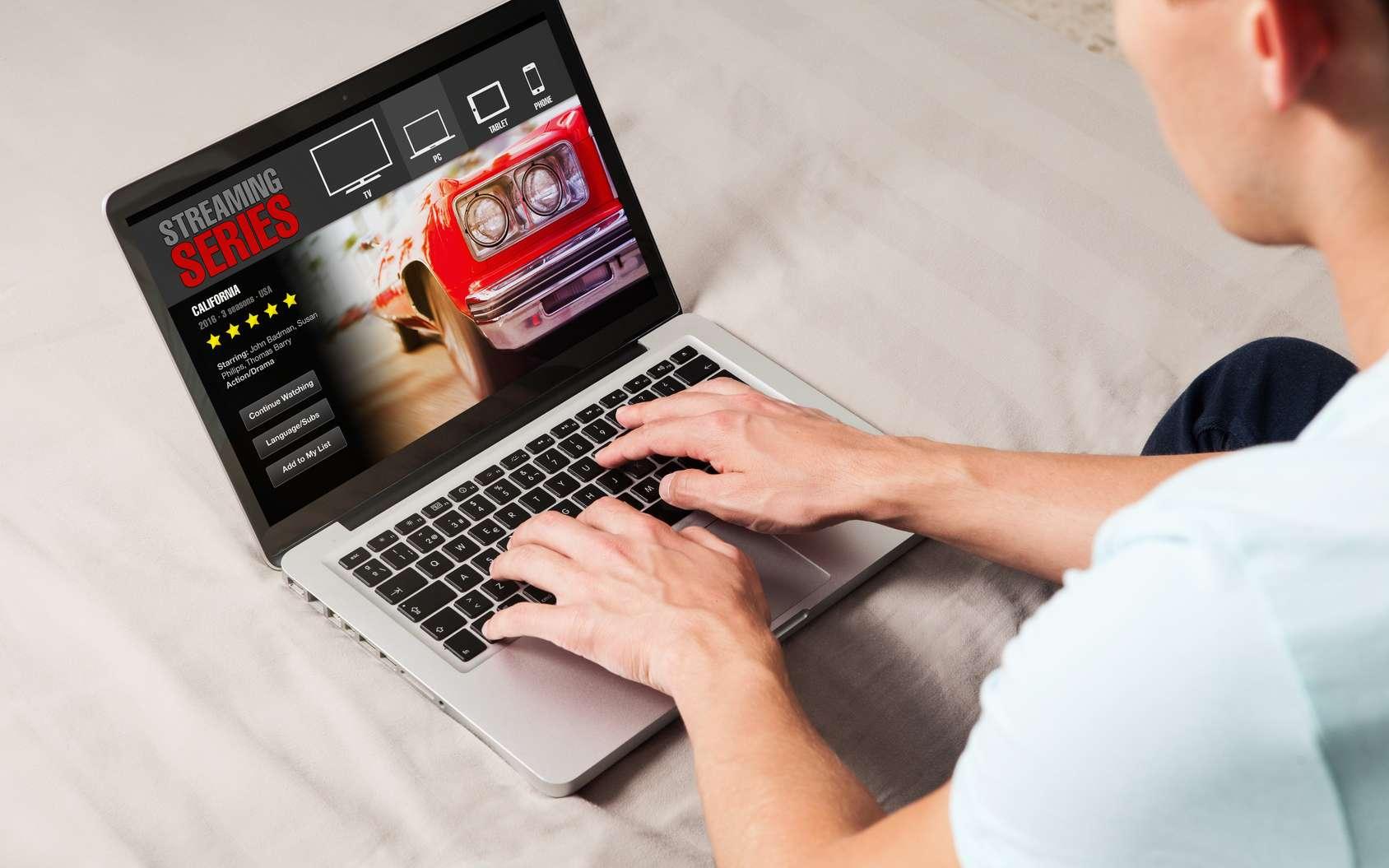 Netflix est le leader incontesté du streaming vidéo (SVOD). © daviles, fotolia