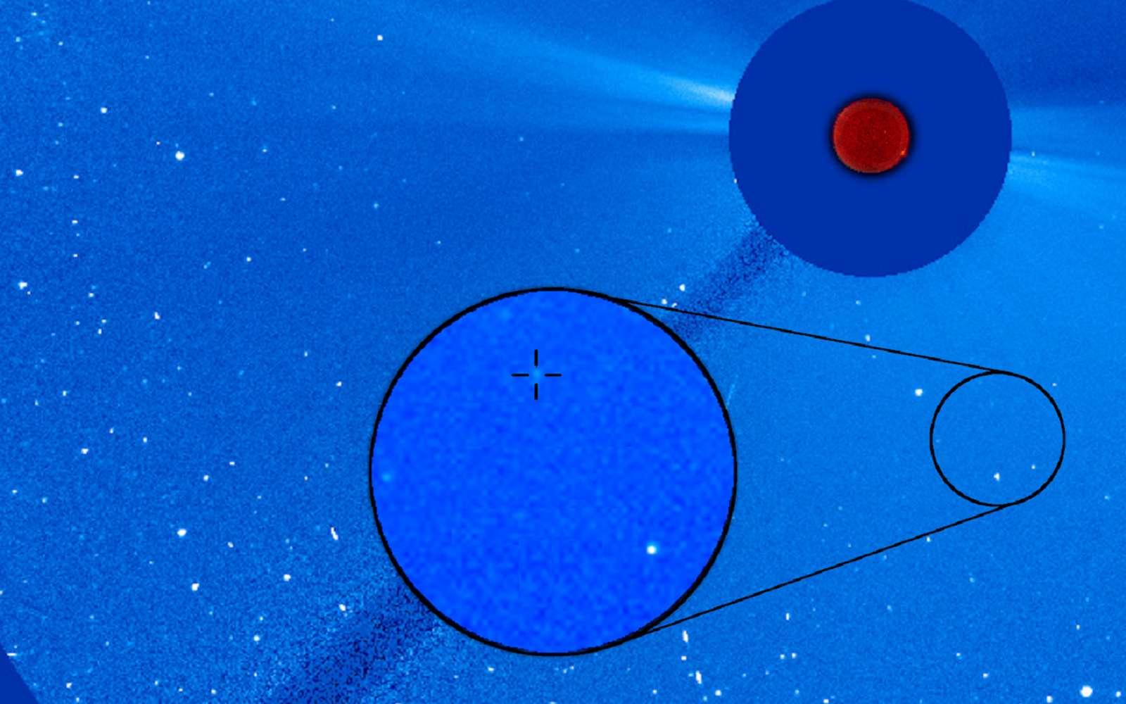 SOHO-4000, une nouvelle étape dans les 25 ans de services de l'observatoire solaire Soho de l'ESA et Nasa © ESA, Nasa, Soho, Karl Battams