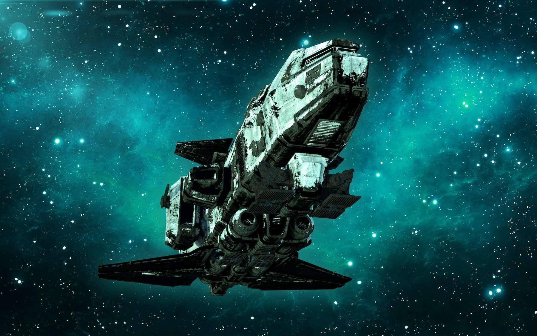 Un vaisseau d'un kilomètrę de long : rêve ou réalité ? © freestyle_images, Adobe Stock