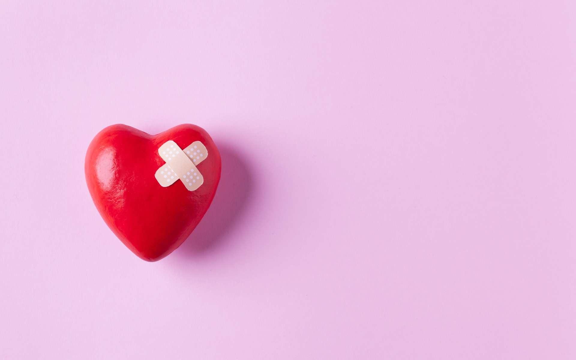 Le syndrome de Takotsubo, ou syndrôme du cœur brisé peut se déclencher à la suite d'un choc émotionnel. © dragonstock, Adobe Stock