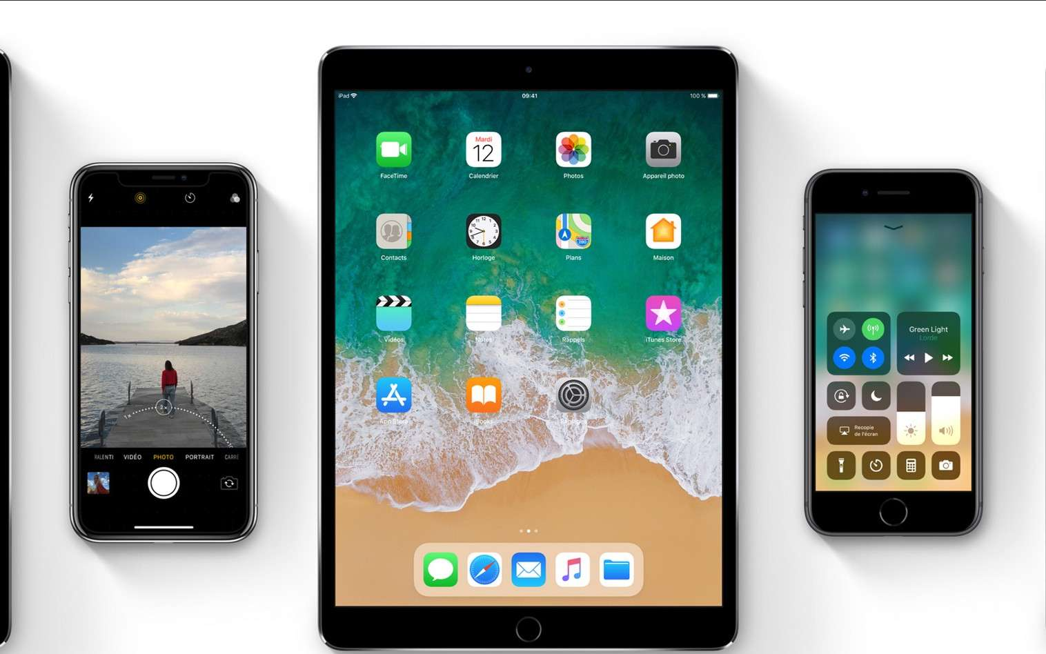 Avec iOS 11, Apple propose une mise à jour approfondie qui vient étoffer les fonctionnalités de l'iPhone et de l'iPad. © Apple