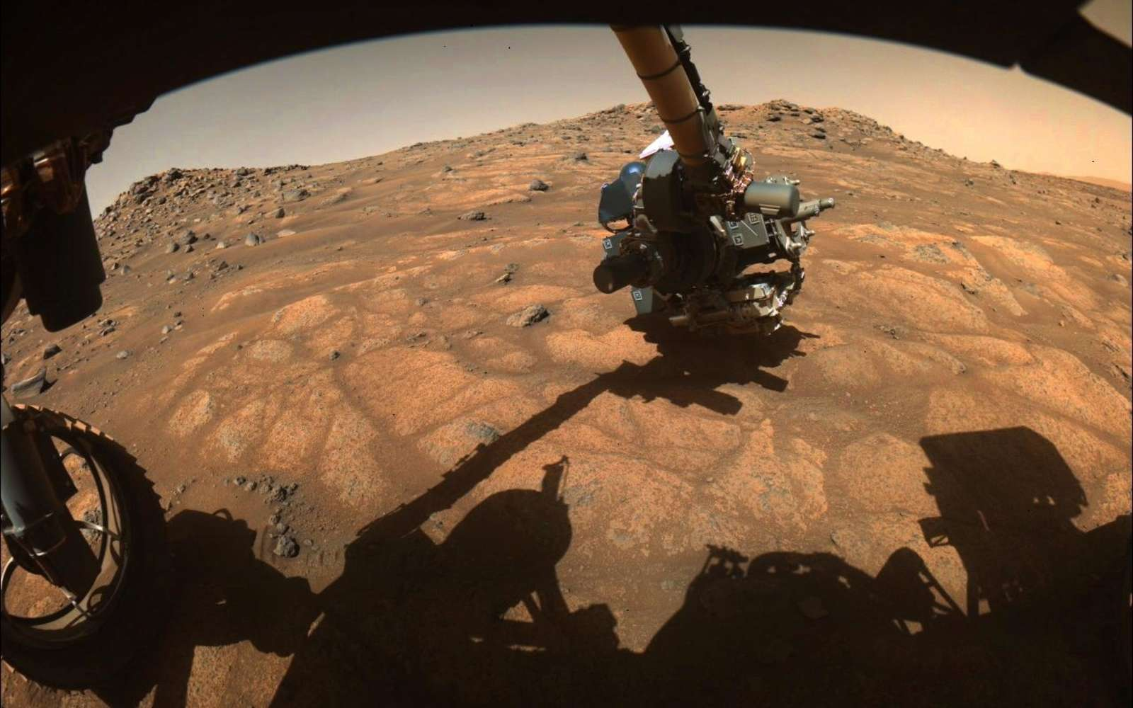 Perseverance : comment va se dérouler son premier prélèvement de roches sur Mars ?