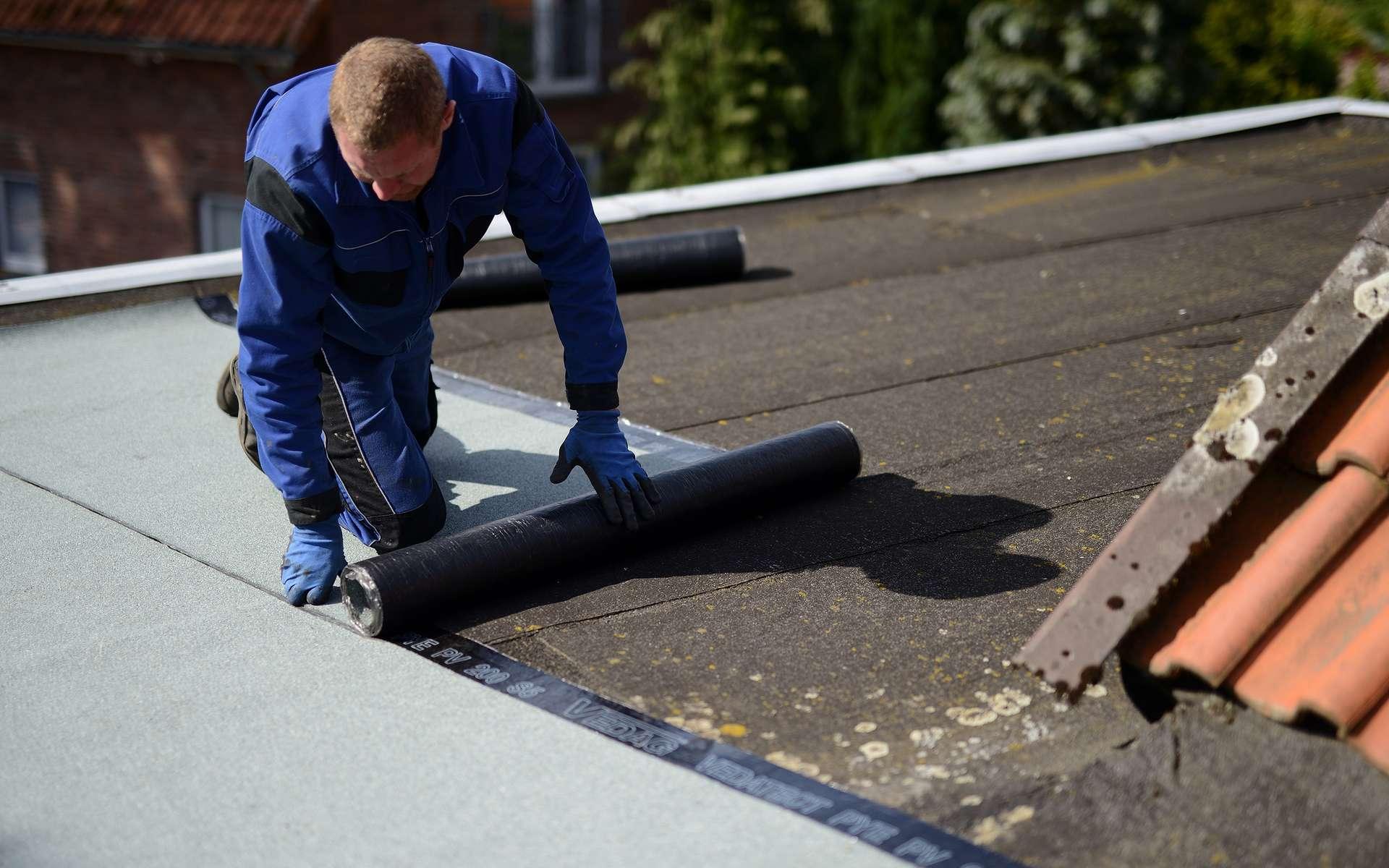 Travaux d'étanchéité pour toit plat © Sven Böttcher, AdobeStock