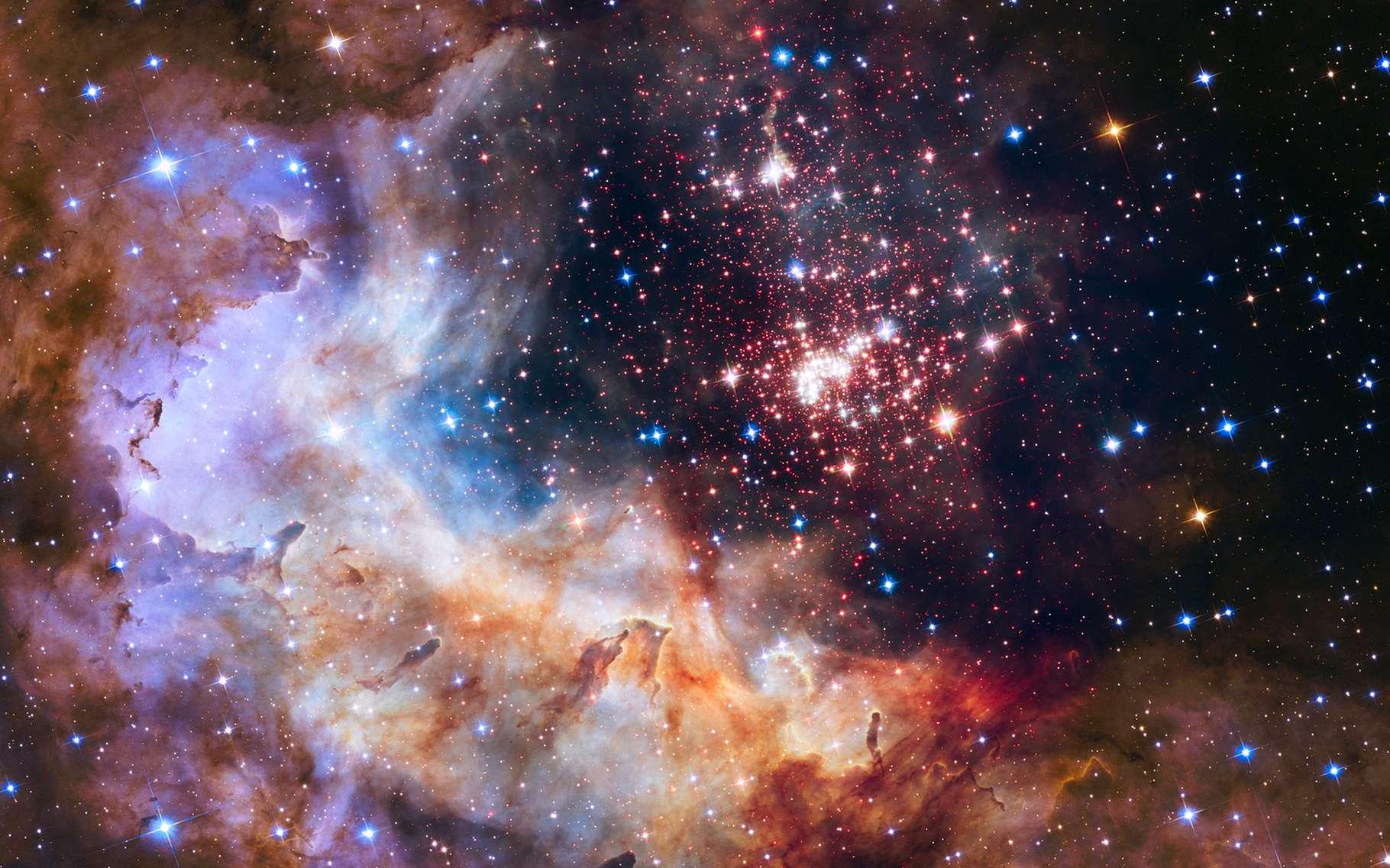 Amas d'étoiles dans la constellation de la Carène. © Yury Dmitrienko, Shuterstock