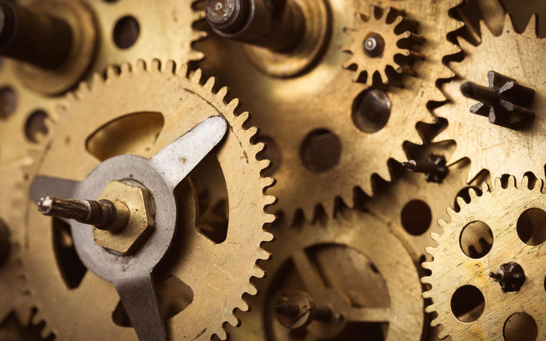 Léonard de Vinci s'est intéressé aux lois du frottement intervenant dans le fonctionnement des engrenages de toutes sortes. Il en aurait eu connaissance depuis au moins 1493. © nevodka, Shuterstock