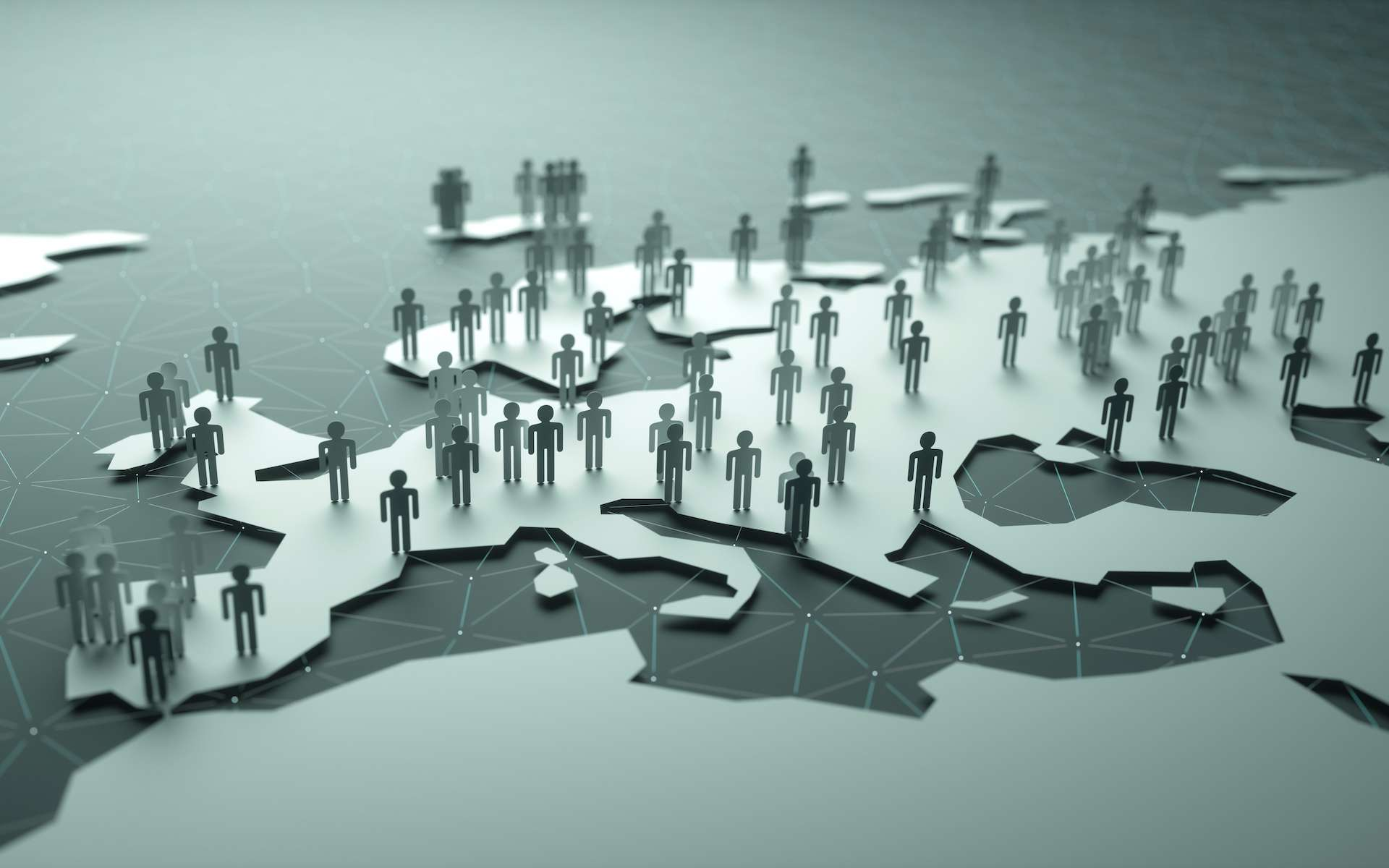 Il suffirait de 20 % de personnes contaminées à la Covid-19 pour enrayer l'épidémie. © ktsdesign, Adobe Stock