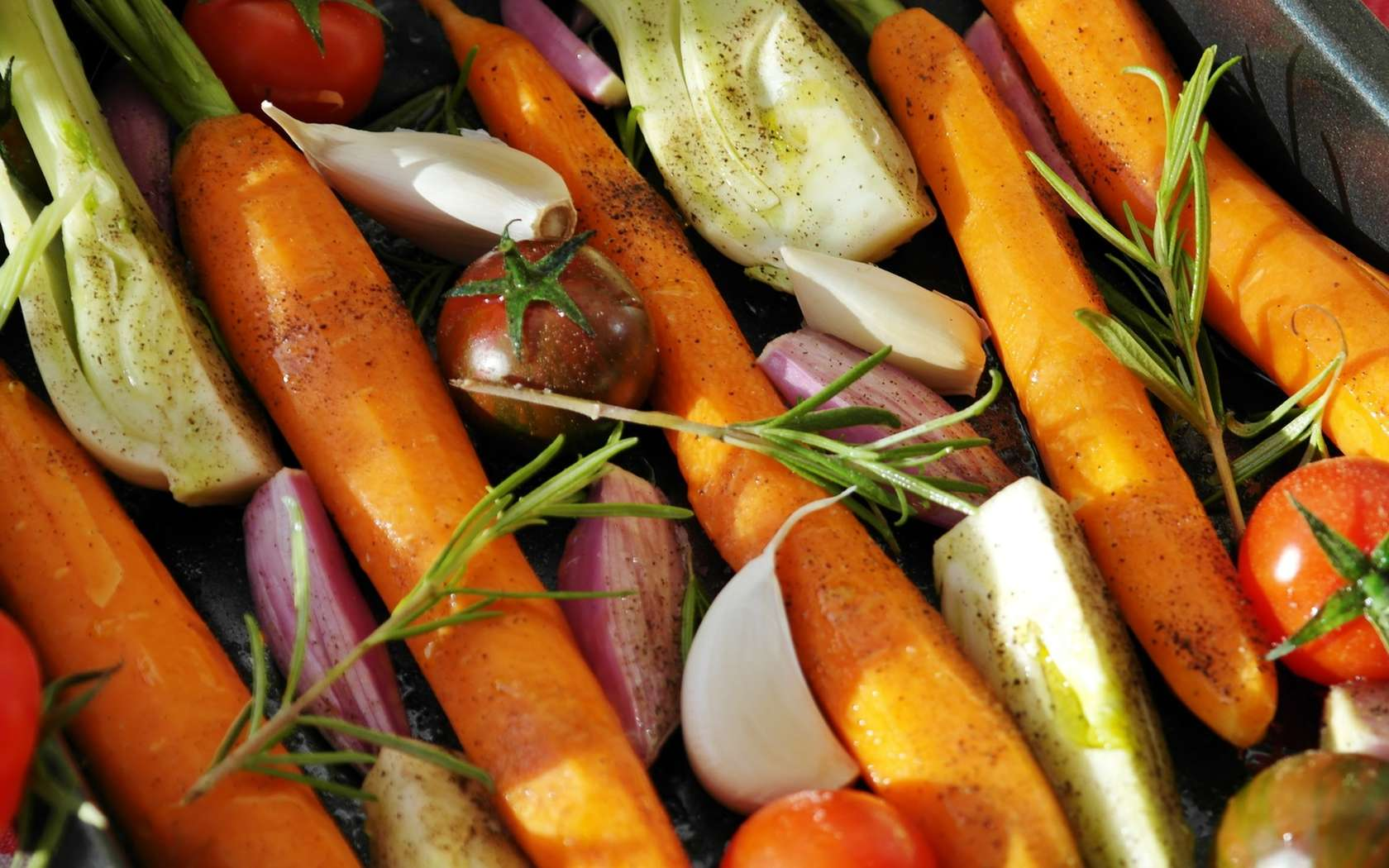 Il faut savoir varier son alimentation pour un bon apport de vitamines. © PxHere