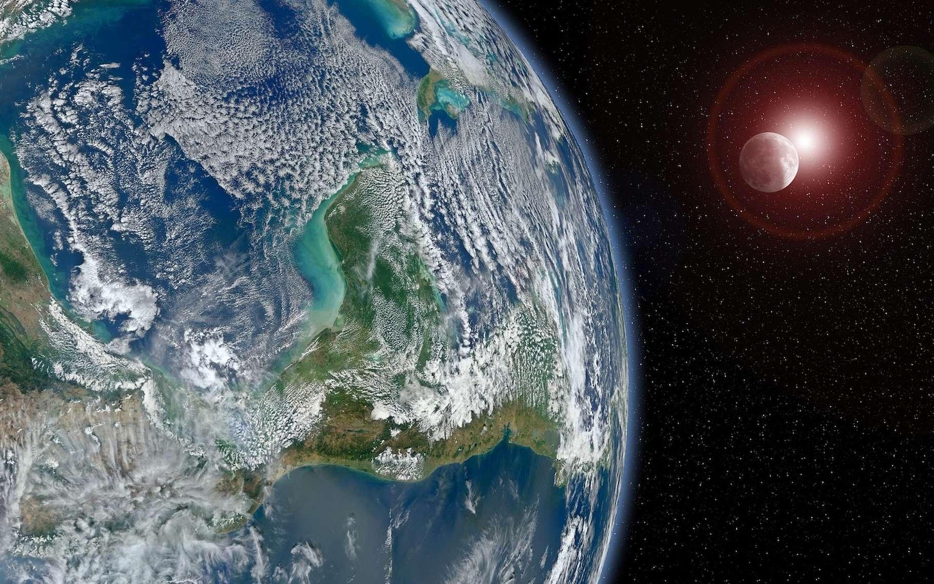 Des physiciens estiment que malgré la faiblesse de leur intensité, les forces de marée dues aux planètes sont capables d'influer sur l'activité du Soleil. © Buddy_Nath, Pixabay License