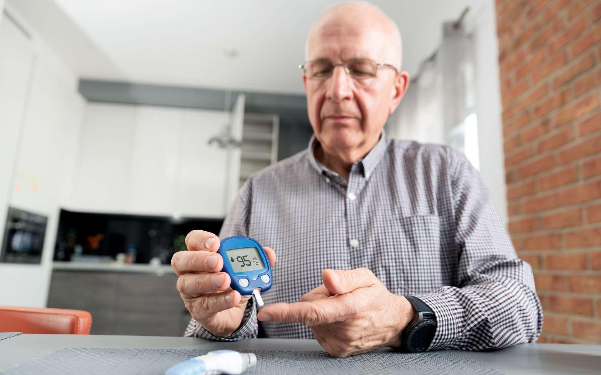 Les seniors souffrant de diabète de type 2 sont les plus fragiles face au Covid-19. © Proxima Studio, Adobe Stock