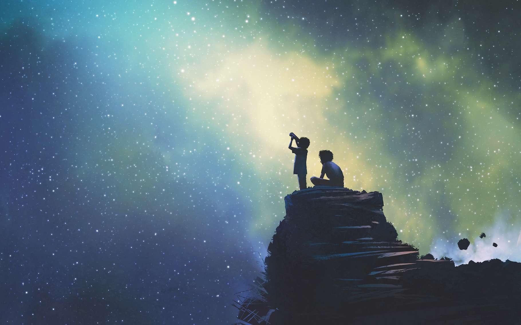 Dans le ciel étoilé, il y a toujours de jolies choses à voir. © grandfailure, Adobe Stock