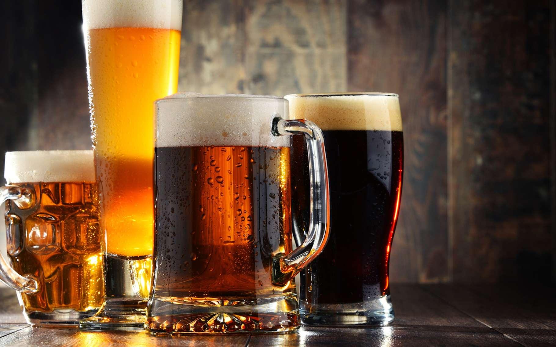 Une étude nous alerte sur les risques que fait peser le réchauffement climatique sur la production mondiale de bière. © monticellllo, Fotolia