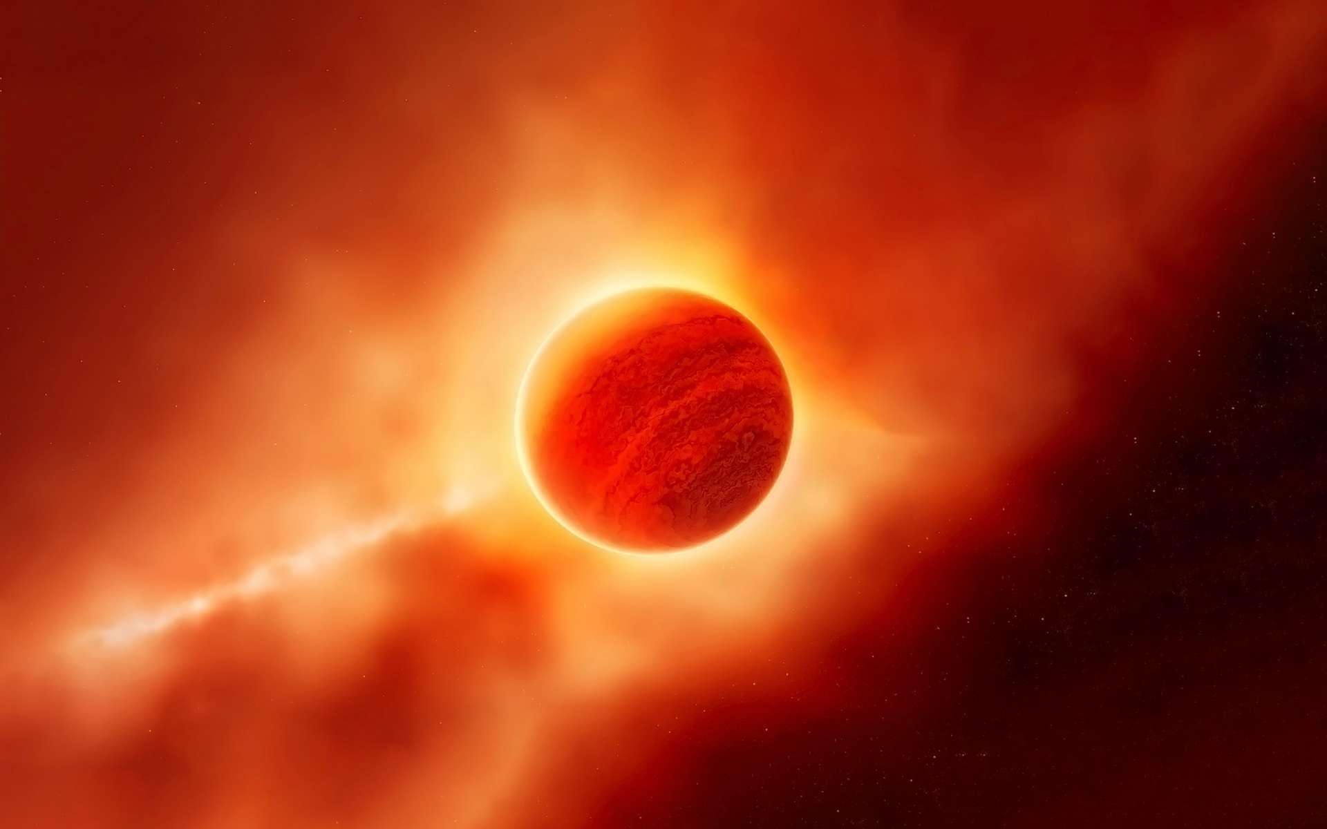 Une exoplanète de type Jupiter nouvellement découverte est en orbite autour d'une naine blanche, une étoile morte. Pour les astronomes, le système ressemble à ce que sera notre Système solaire quand notre Soleil aura rendu son dernier souffle. © Artsiom P, Adobe Stock