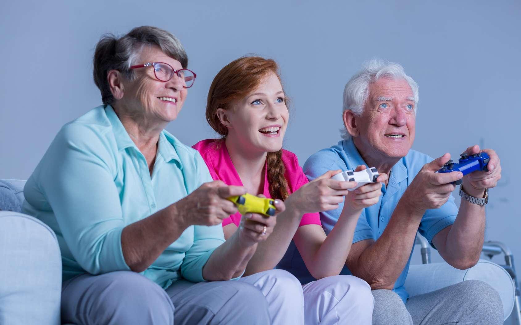 Les jeux vidéo pourraient-ils être une aide au diagnostic précoce de la maladie d'Alzheimer ? © Photographee.eu
