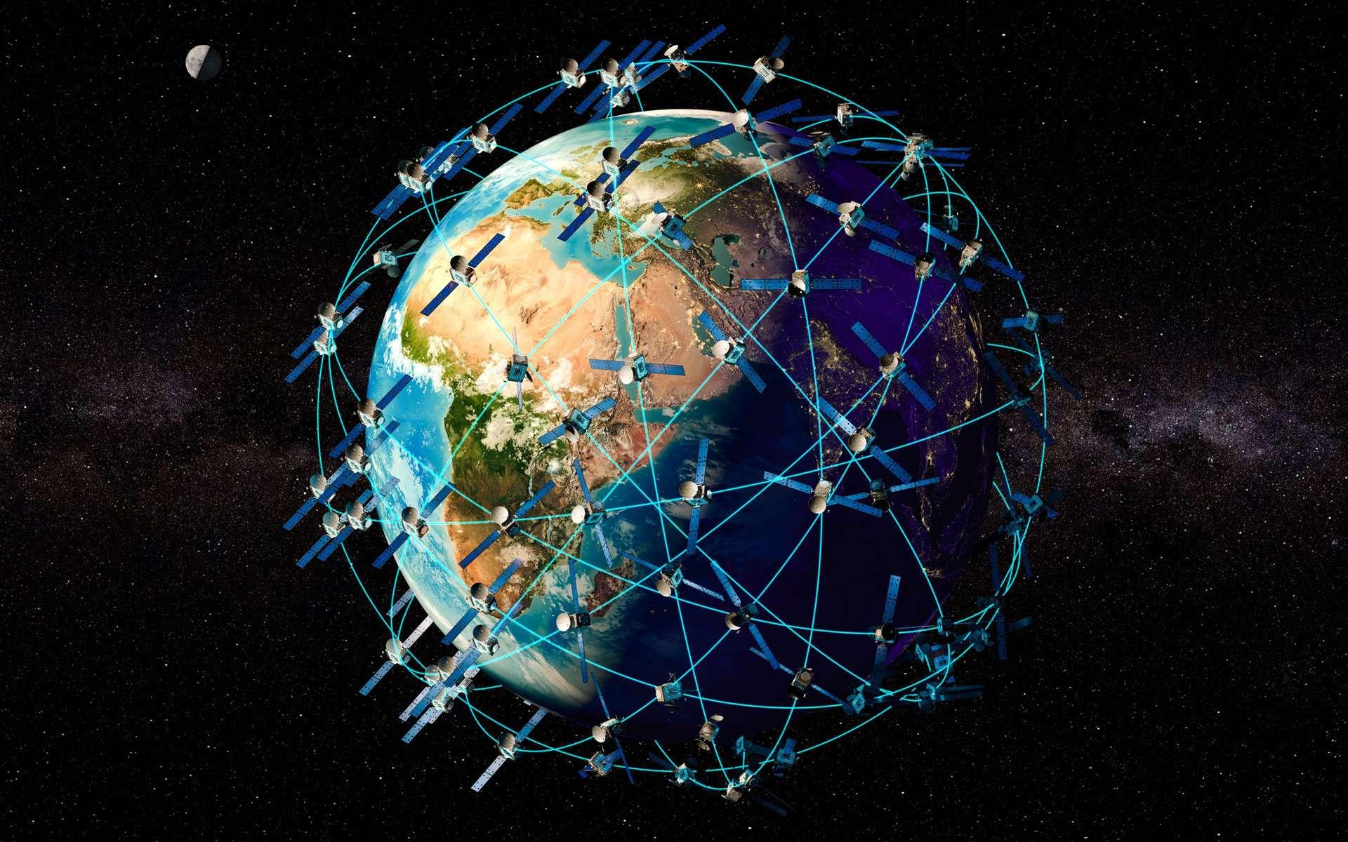Quelque 500 satellites en orbite sont des satellites de reconnaissance, des « satellites espions ». © alexlmx, Adobe Stock