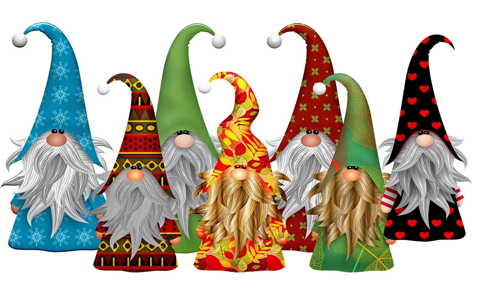 Jeu mathématique des 7 nains © AnalyseArt, Pixabay, DP