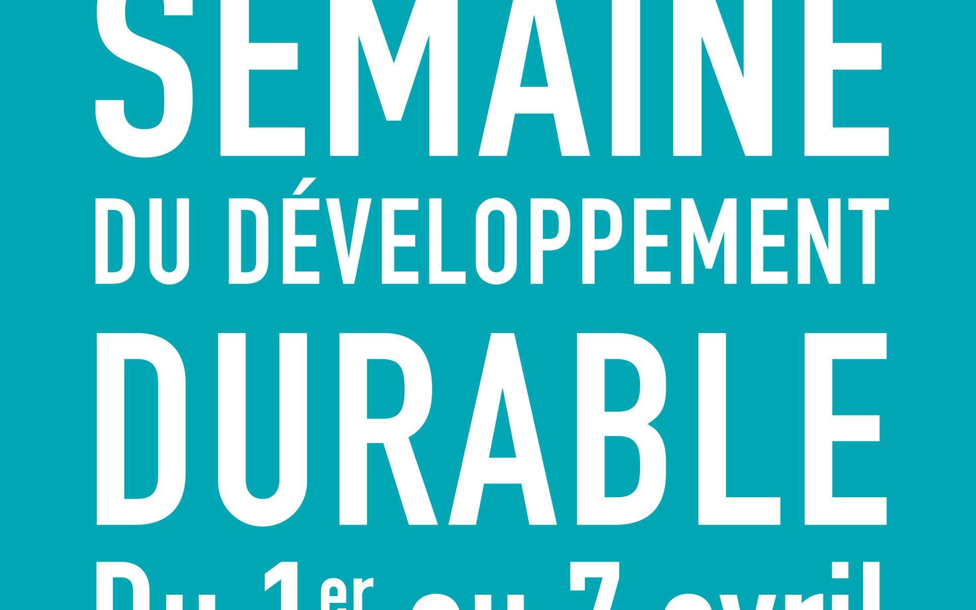 La Semaine du développement durable est une habitude prise depuis 2003 afin de sensibiliser les Français aux bons réflexes à adopter. © 2014 Ministère de l'Écologie, du développement durable et de l'Énergie