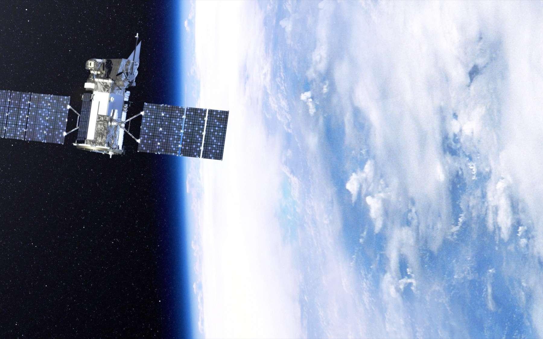Comme la fusée Taurus XL, Glory a été construit par Orbital Science (autour de la plateforme LEOStar, déjà utilisée pour construire de nombreux satellites dont Galex, Sorce et AIM). © Nasa