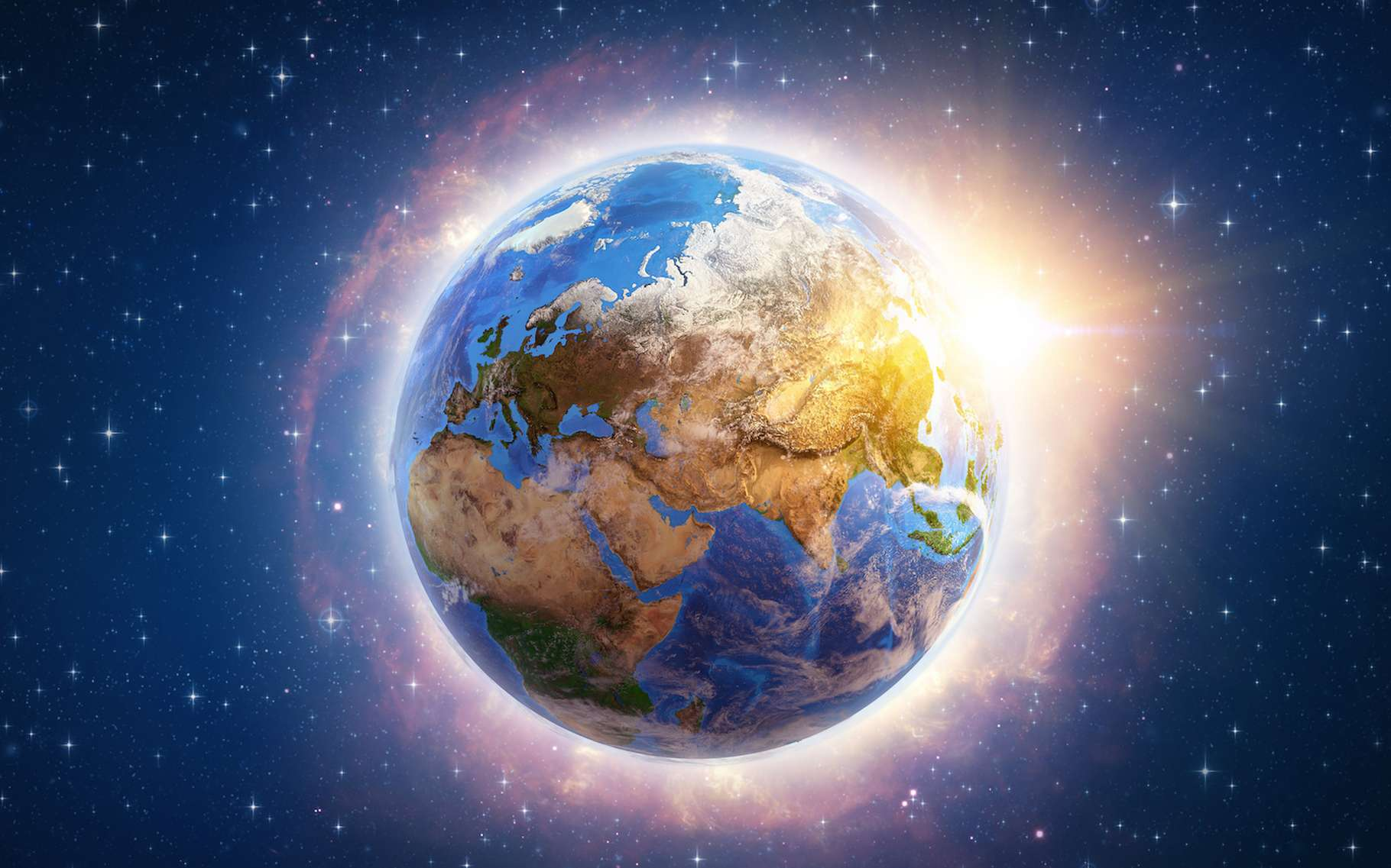 Cette nouvelle étude propose une explication à l'énigme de la température de l'Holocène. © mozZz, Adobe Stock