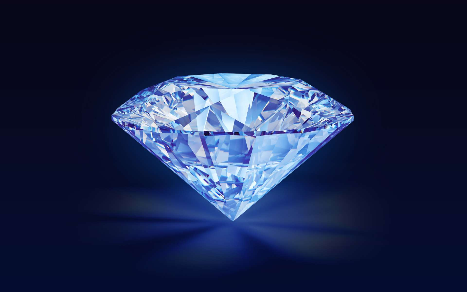 Le diamantaire russe Alrosa va commercialiser des diamants fluorescents. © Alrosa
