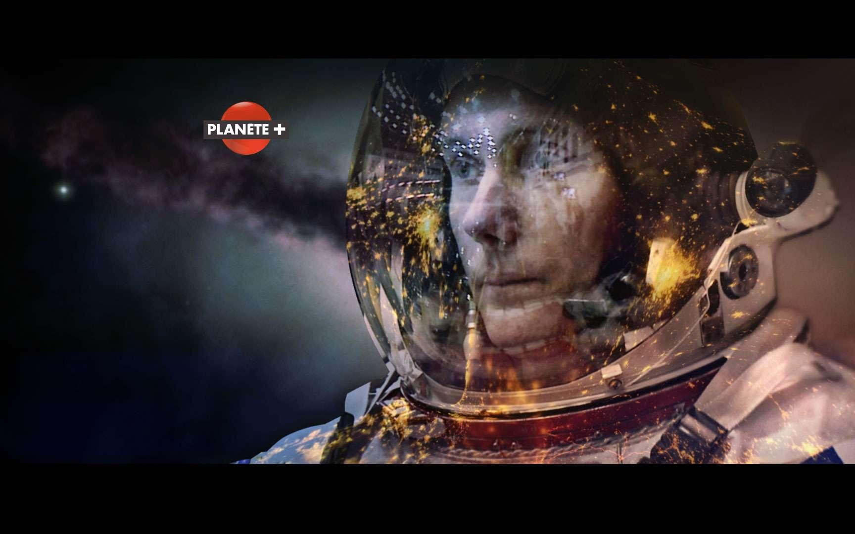 Thomas Pesquet, spationaute de l'Agence spatiale européenne, après sept ans d'entraînement, s'apprête à rejoindre la Station spatiale internationale (ISS). © Upside Télévision