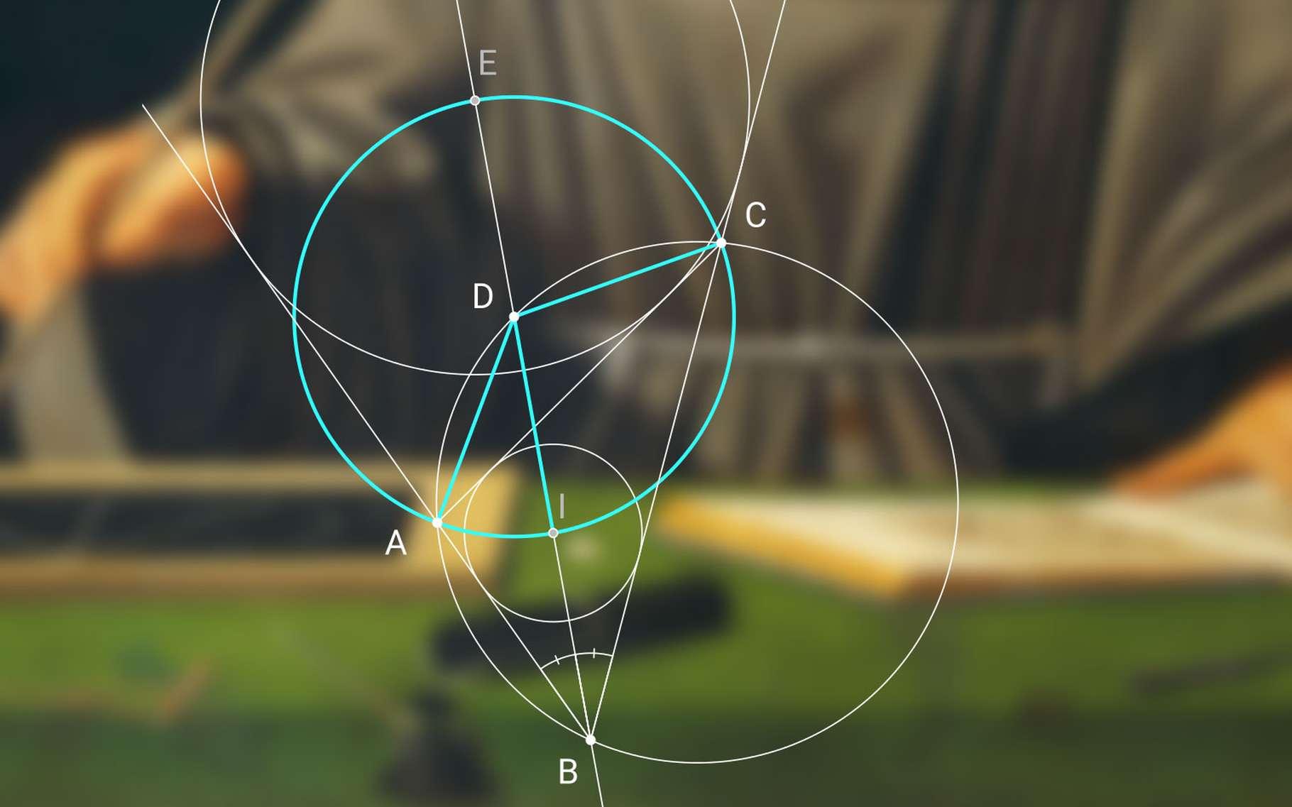 Qu'est-ce que le postulat d'Euclide ? © Kmhkmh, Wikimedia commons, CC by-sa 4.0