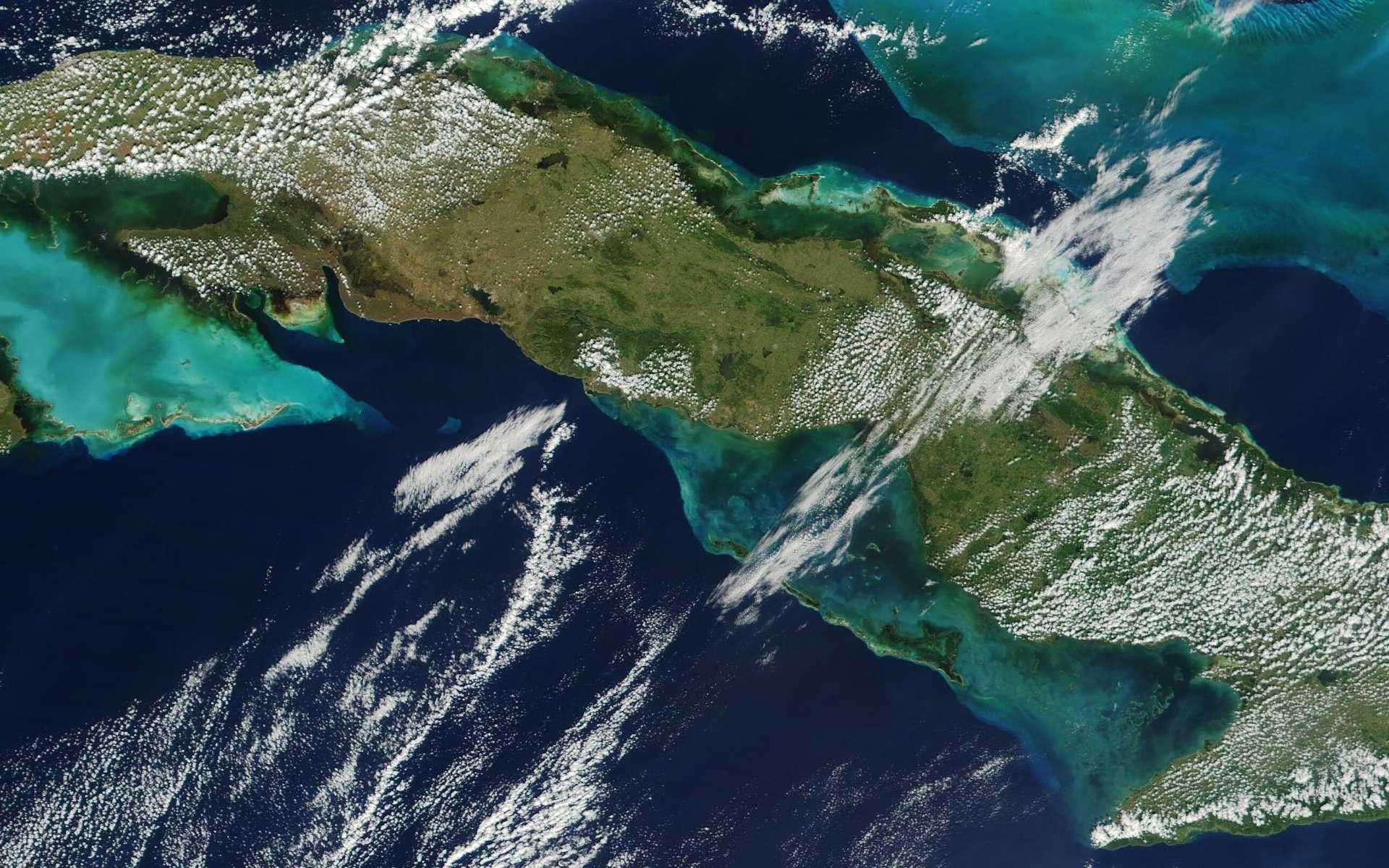 L'île de Cuba et la guerre froide auraient pu déclencher une guerre nucléaire entre les États-Unis et l'URSS, au cours de la crise des missiles de Cuba. © Jacques Descloitres, Wikimedia Commons, DP