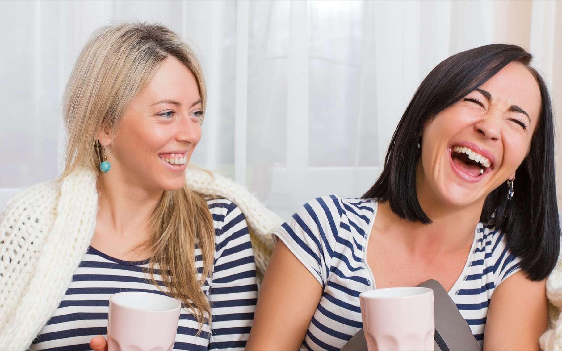 Faire rire les autres, c'est aussi leur apporter un peu de bien-être. Et vous, avez-vous le sens de l'humour ? © Kaspars Grinvalds, Shutterstock