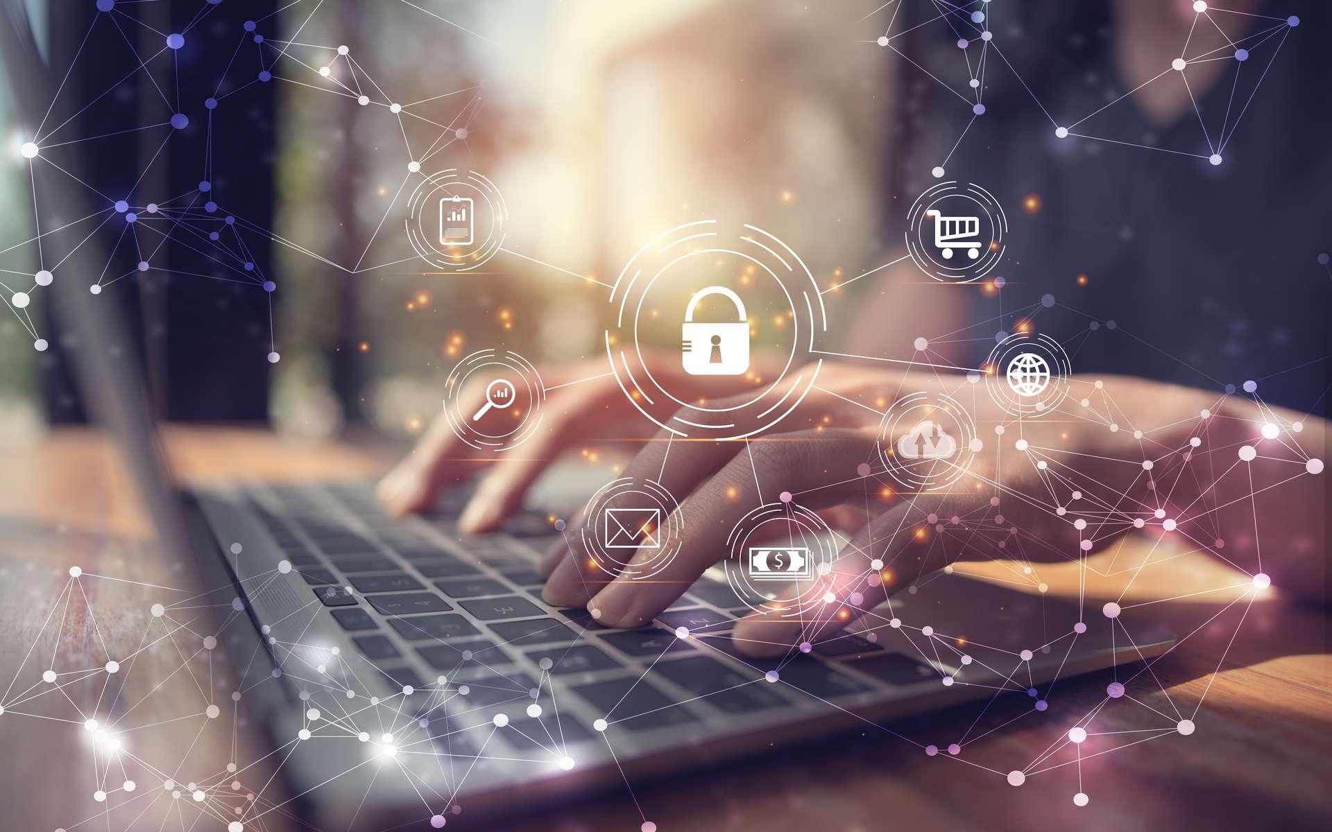 La sécurité des données privées est au cœur des priorités pour nombre d'entre nous. La mise en place du Règlement général sur la protection des données (RGPD) était donc une nécessité. Des entreprises proposent une solution pour éliminer les publicités et les traceurs lorsqu'on navigue sur le Net. © Looker_Studio, Adobe Stock