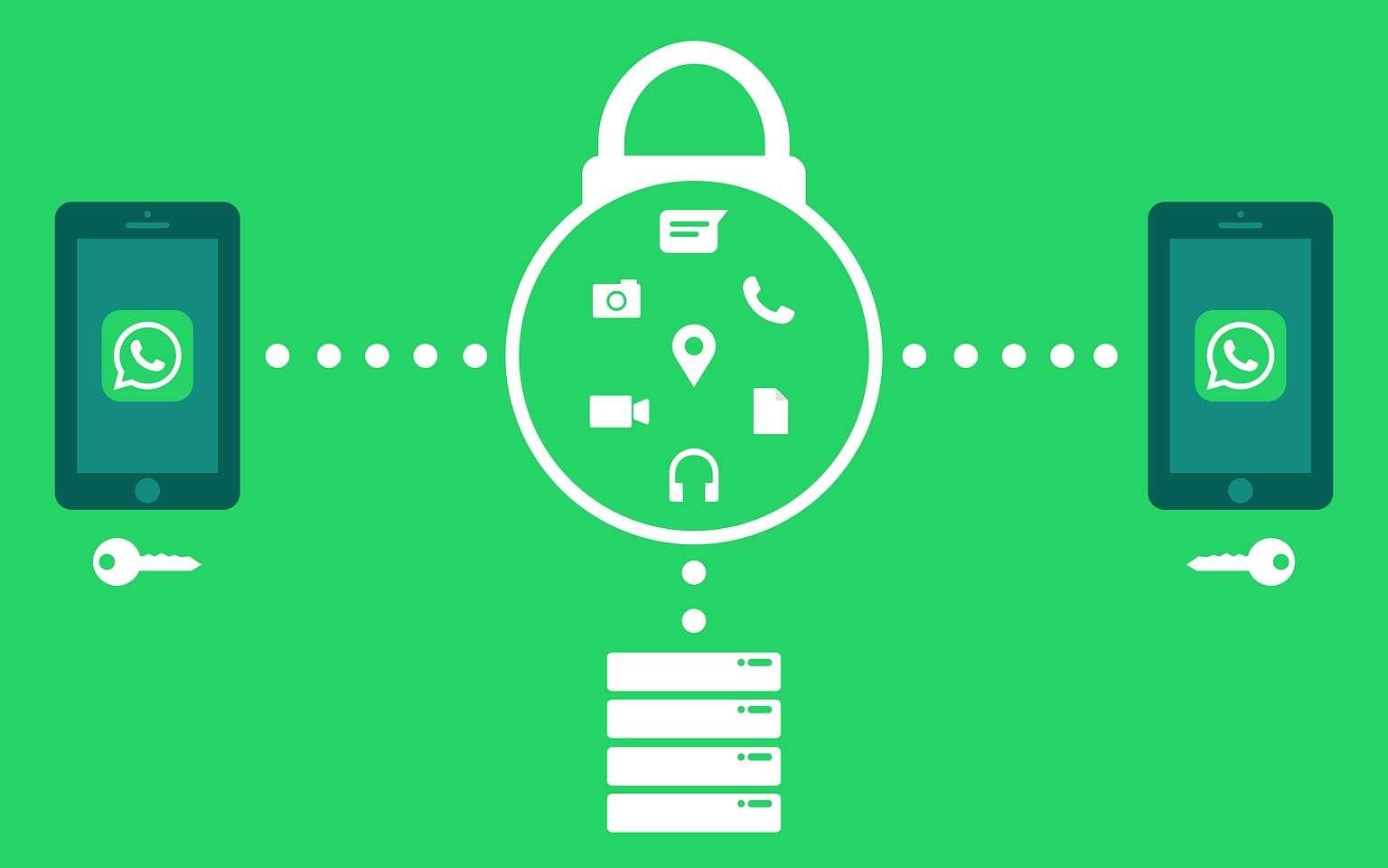 La sauvegarde des données en ligne est utile lors d'un renouvellement de téléphone. © Pixabay