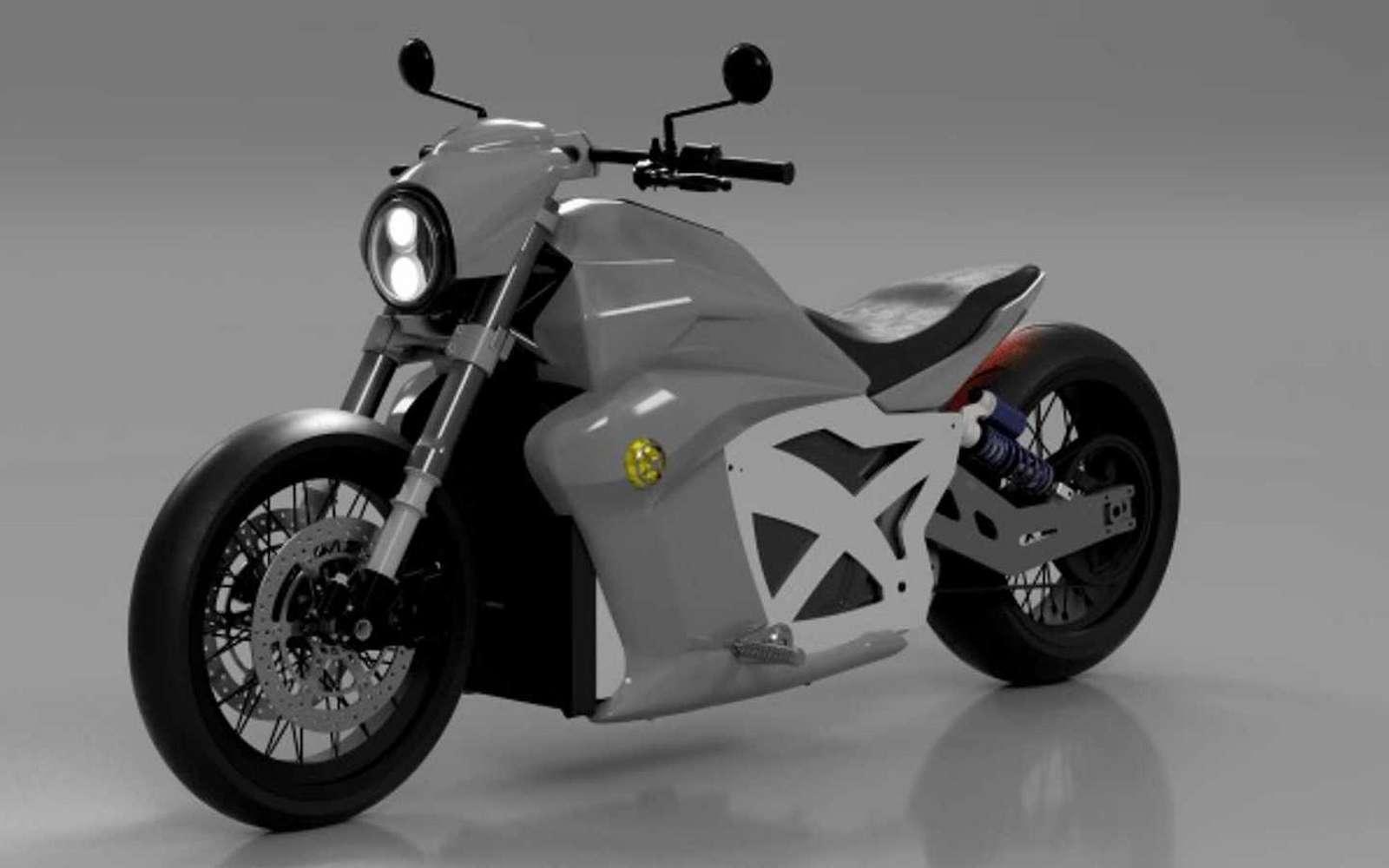 Le fabricant Evoke a peut-être enfin réussi à trouver la bonne formule pour permettre de recharger rapidement une moto électrique. © Evoke