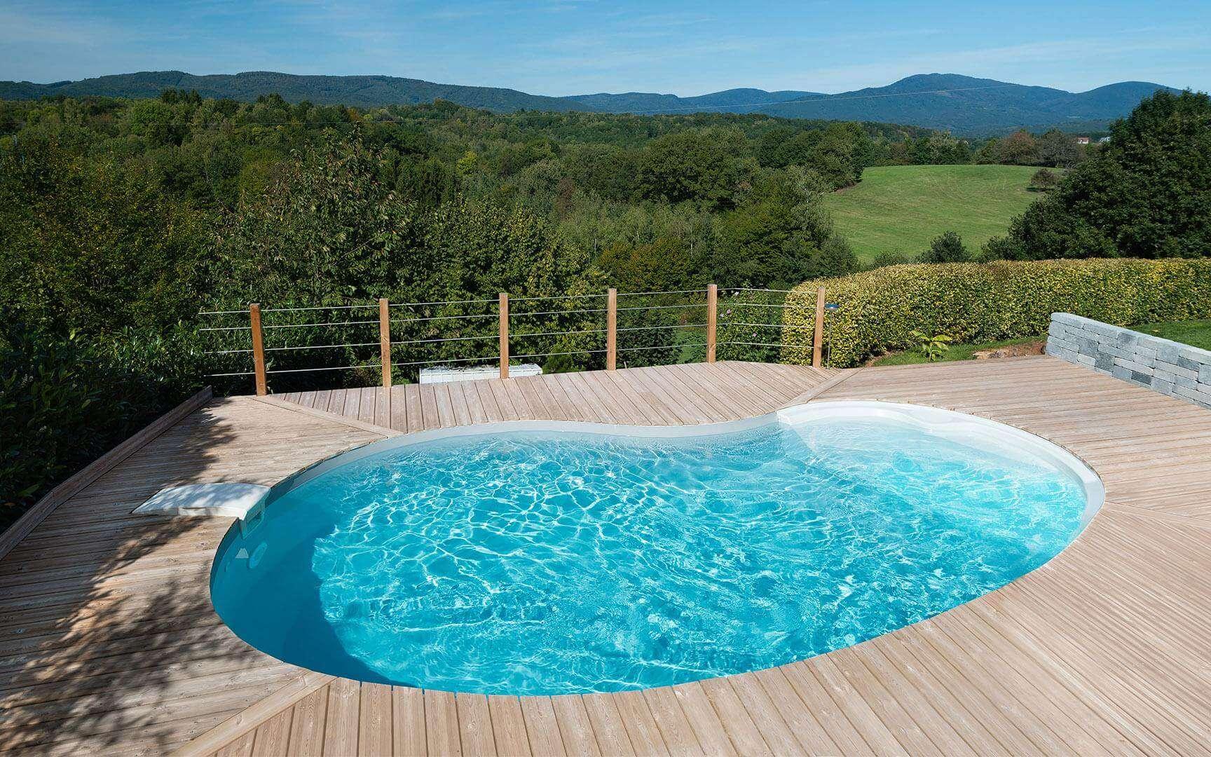 Une piscine zéro consommation d'énergie pour préserver l'environnement
