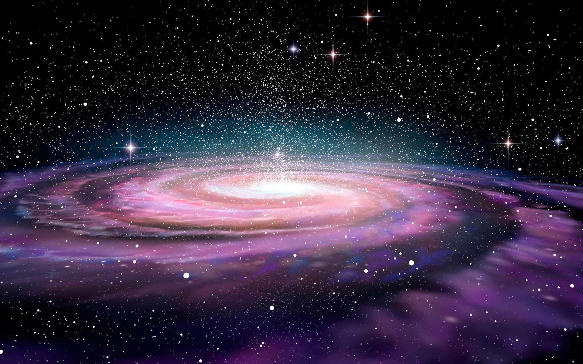 Selon des données d'une précision inégalée, la Terre se situerait à « seulement » 25.800 années-lumière de Sagittarius A*. © Alexandr Mitiuc, Adobe Stock