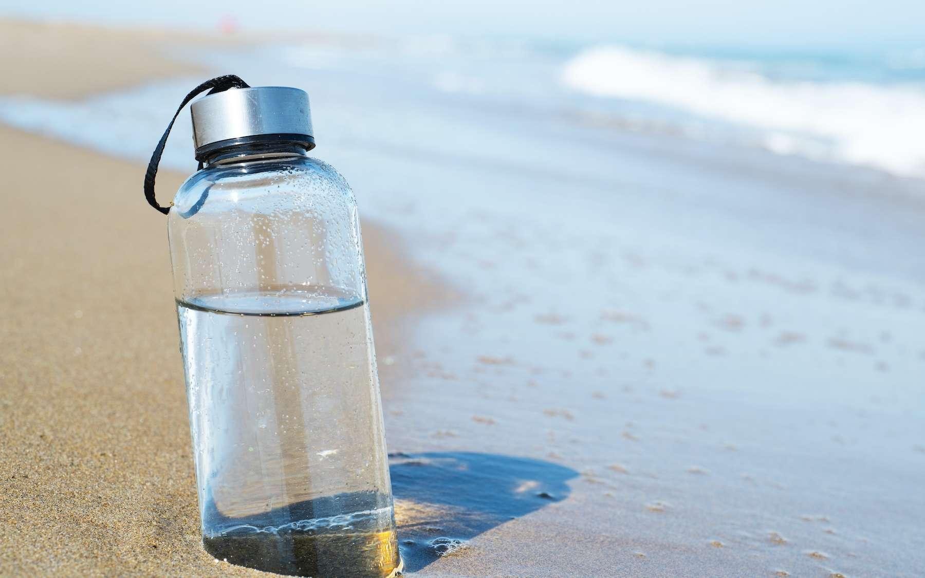 Boire de l'eau de mer : une mauvaise idée qui aggrave la déshydratation. © nito, Adobe Stock