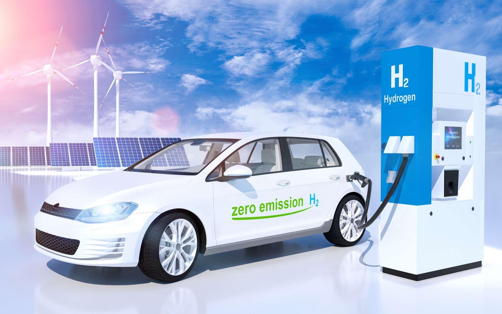 L'hydrogène vert pourrait remplacer les carburants fossiles, pétrole ou gaz ! © AA+W, Adobe Stock