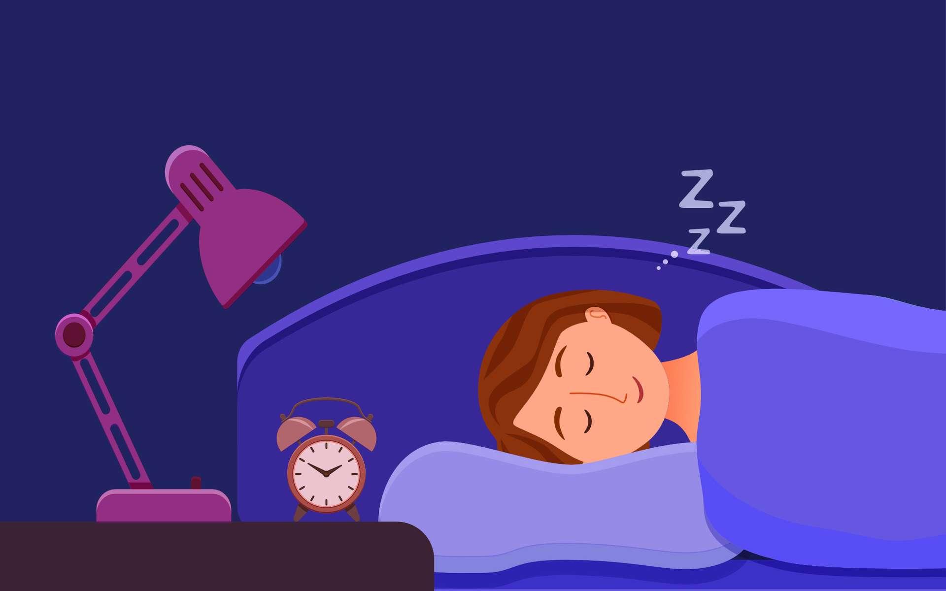 Bien dormir : comment trouver le sommeil. © Olga, Adobe Stock