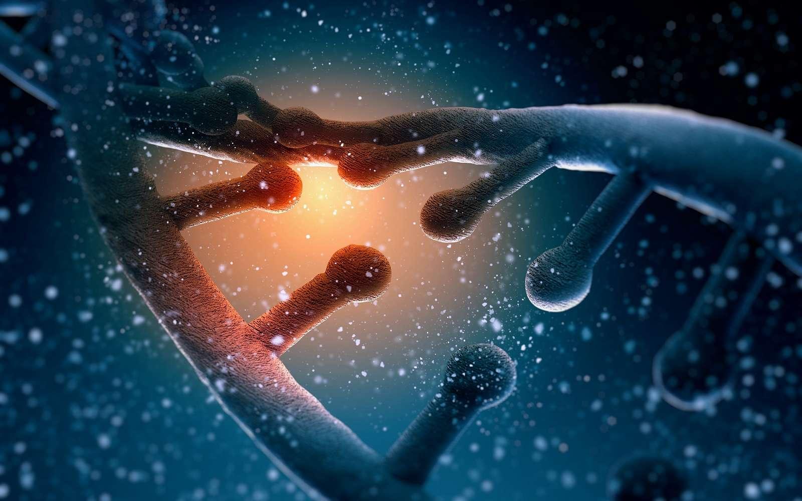 La séparation de l'ADN prenait jusqu'à présent plusieurs heures. Avec cette innovation, elle pourrait se faire en seulement 10 mn. © Sergey Nivens, Shutterstock