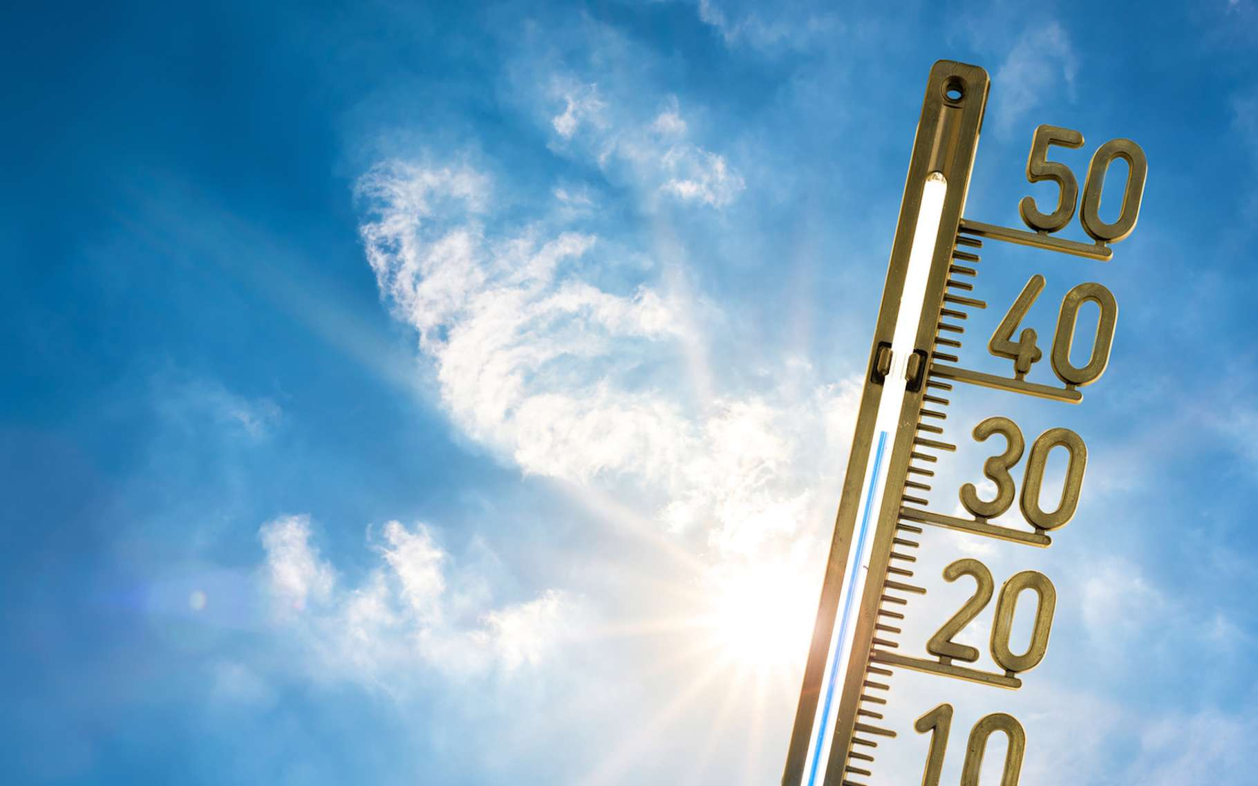Les scientifiques avaient annoncé que le réchauffement climatique deviendrait d'abord la cause unique de phénomènes extrêmes liés à la chaleur. Un récent rapport leur donne raison. © John Smith, Fotolia